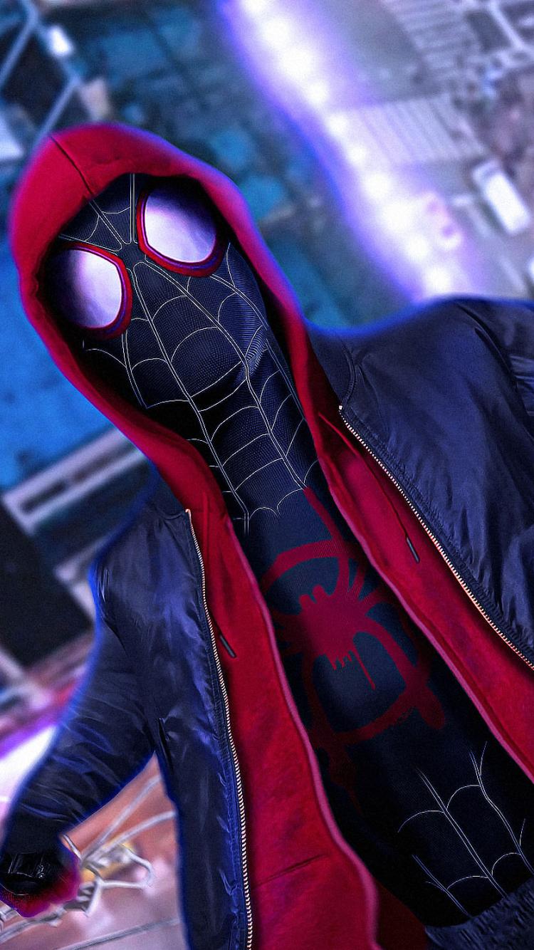 Movie Spider Man Into The Spider Verse 750x1334 Wallpaper Id