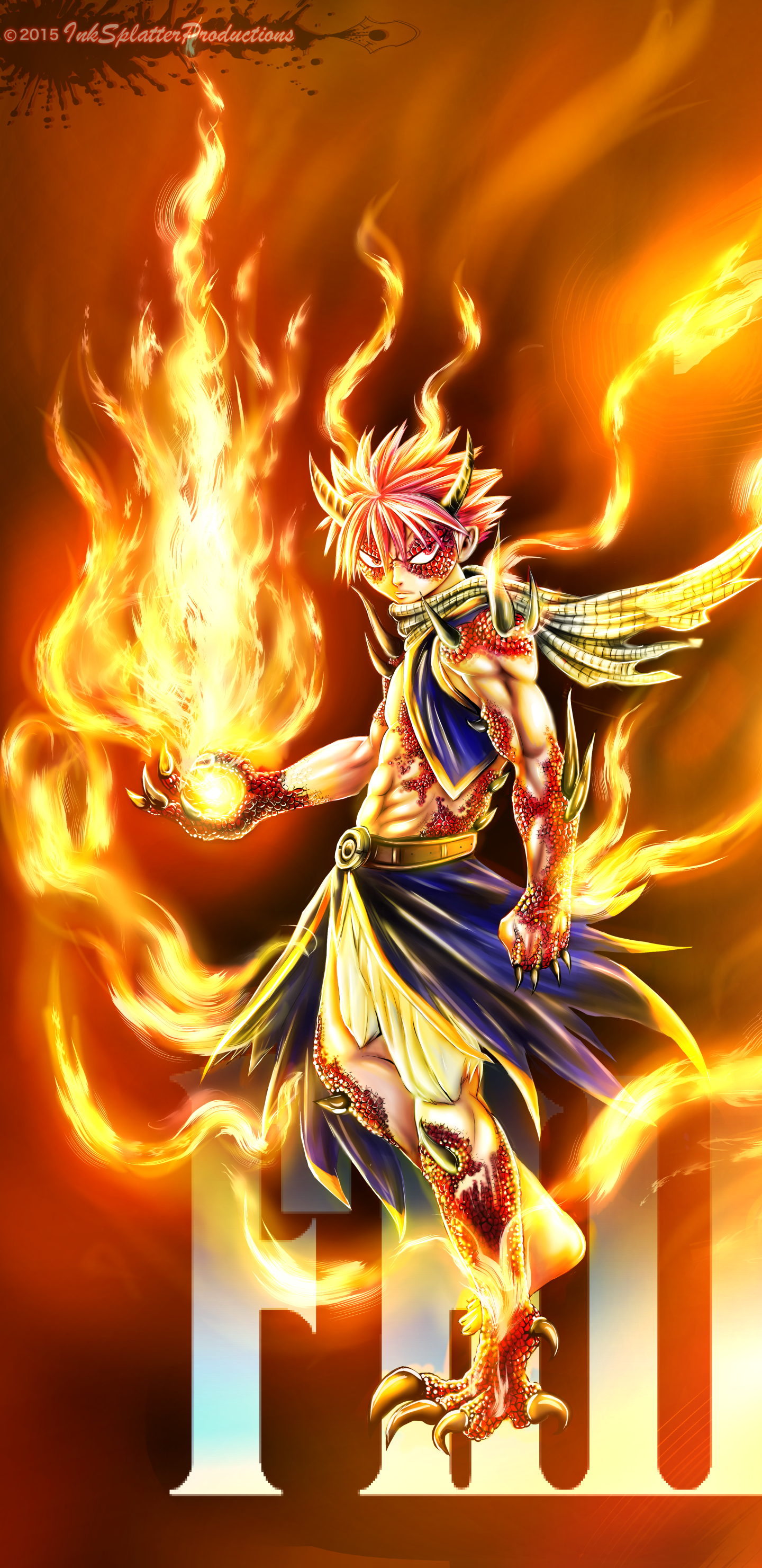 Anime Fairy Tail Movie 2 Dragon Cry 1440x2960 Wallpaper Id