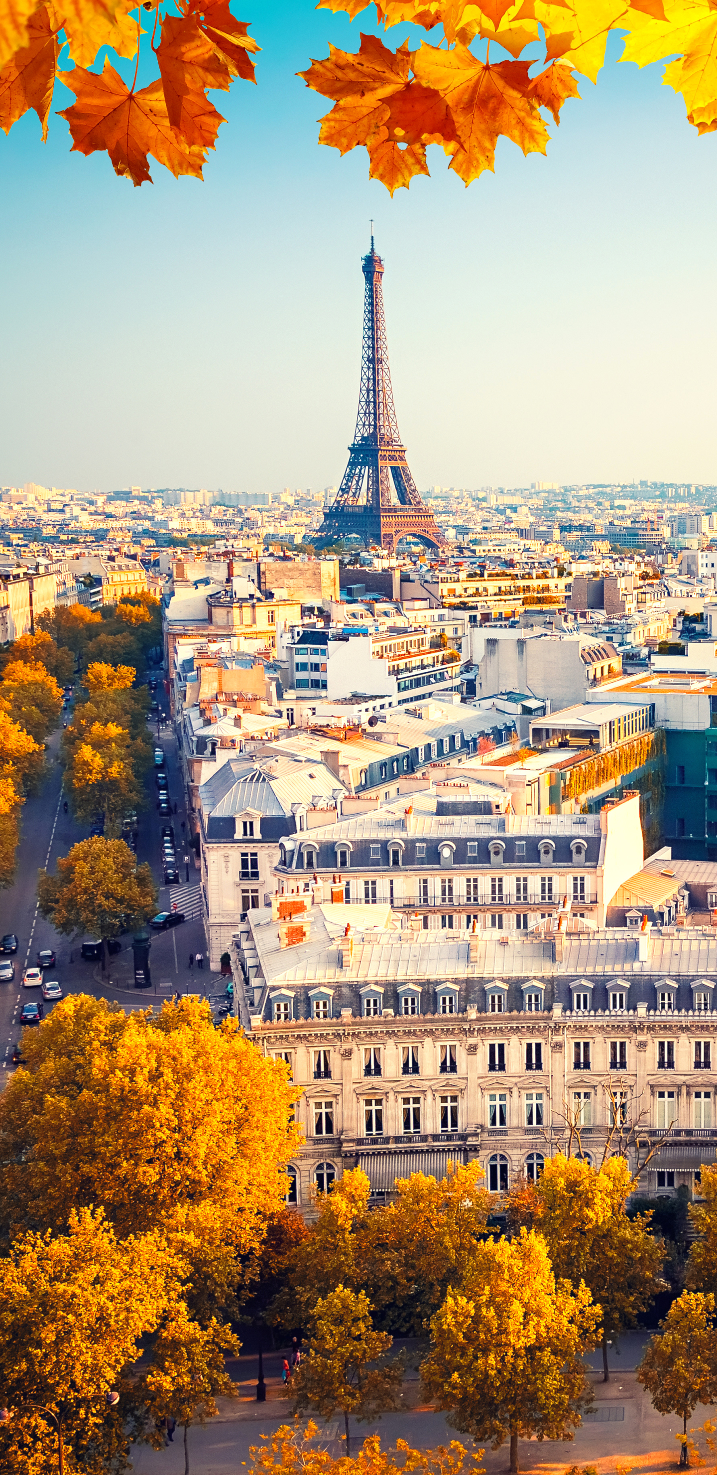 Man Made Paris 1440x2960 Wallpaper Id 733988 Mobile Abyss