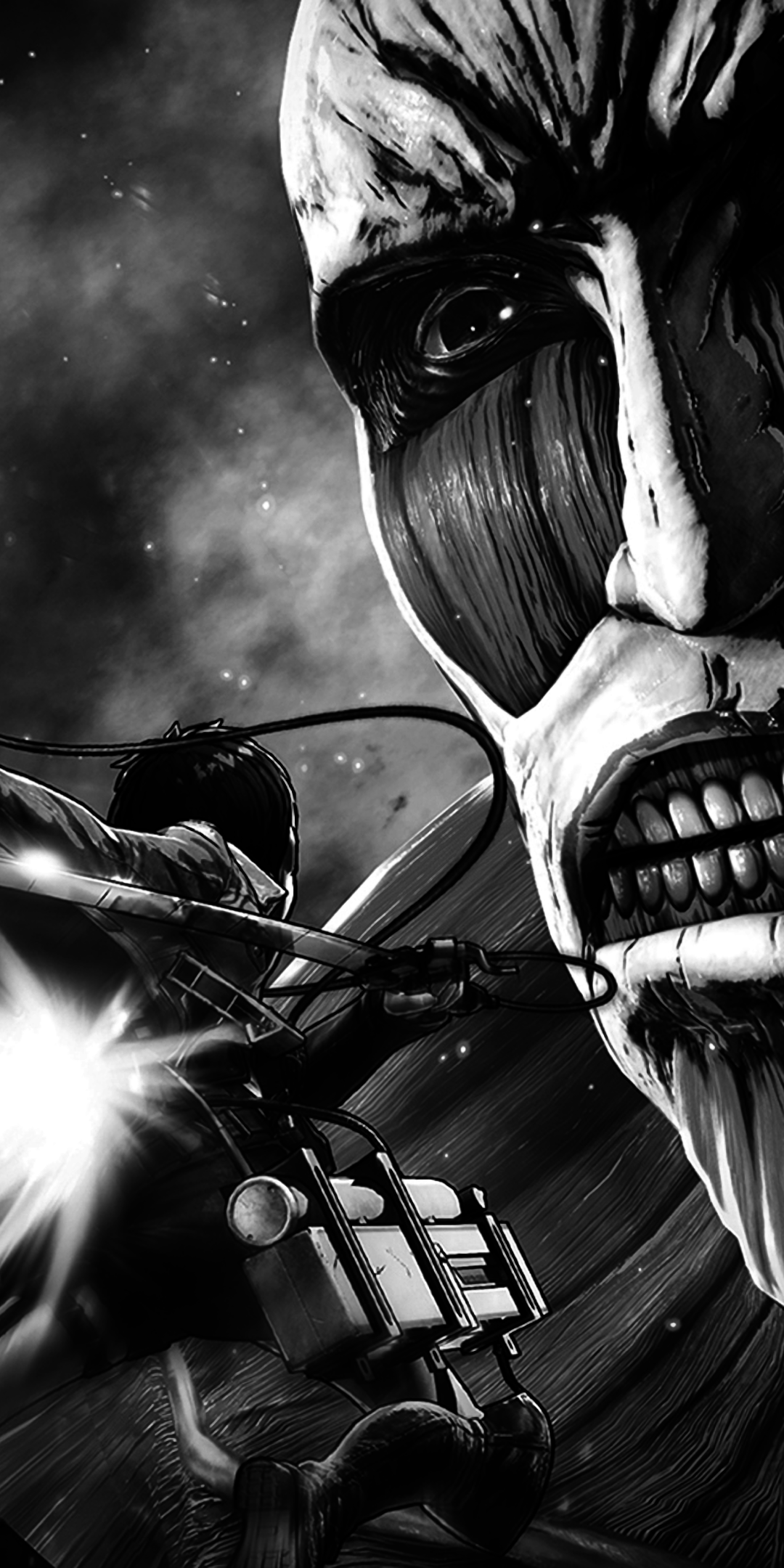 Anime Attack On Titan 1080x2160 Wallpaper Id 736655 Mobile Abyss
