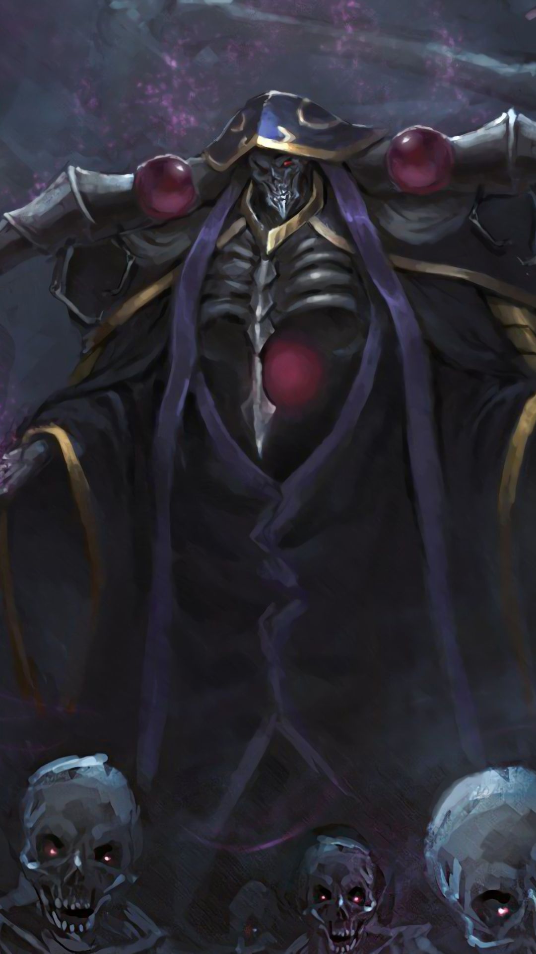 Anime Overlord 1080x1920 Wallpaper Id 736835 Mobile Abyss