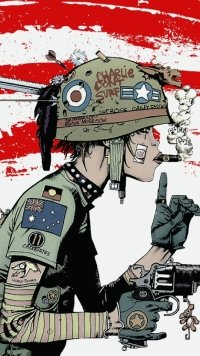 2 Tank Girl Mobile Wallpapers Mobile Abyss