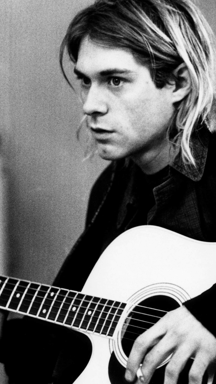 Music Kurt Cobain 720x1280 Wallpaper Id 738099 Mobile Abyss