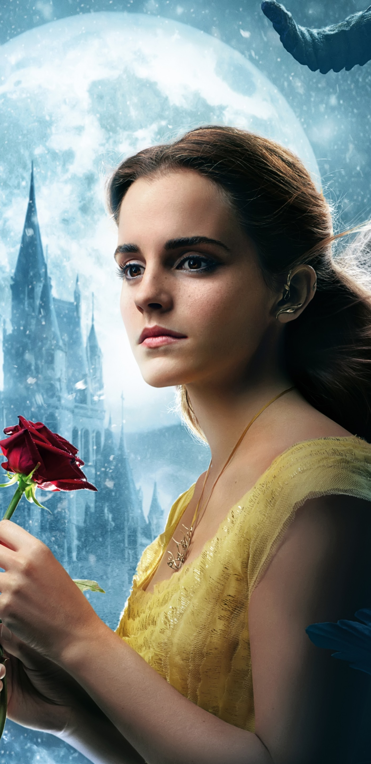 Movie Beauty And The Beast 2017 1440x2960 Wallpaper Id 739202