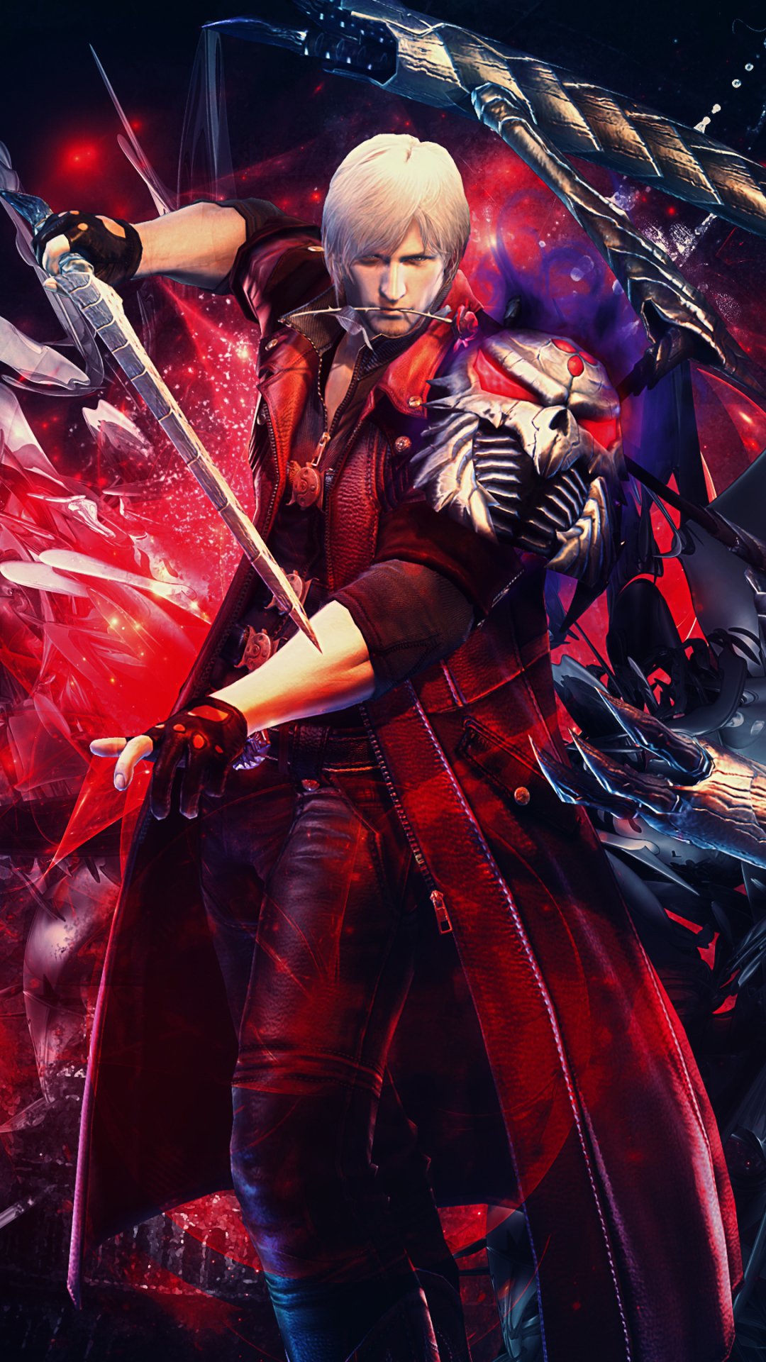 Video Game Devil May Cry 4 1080x1920 Wallpaper Id 741844