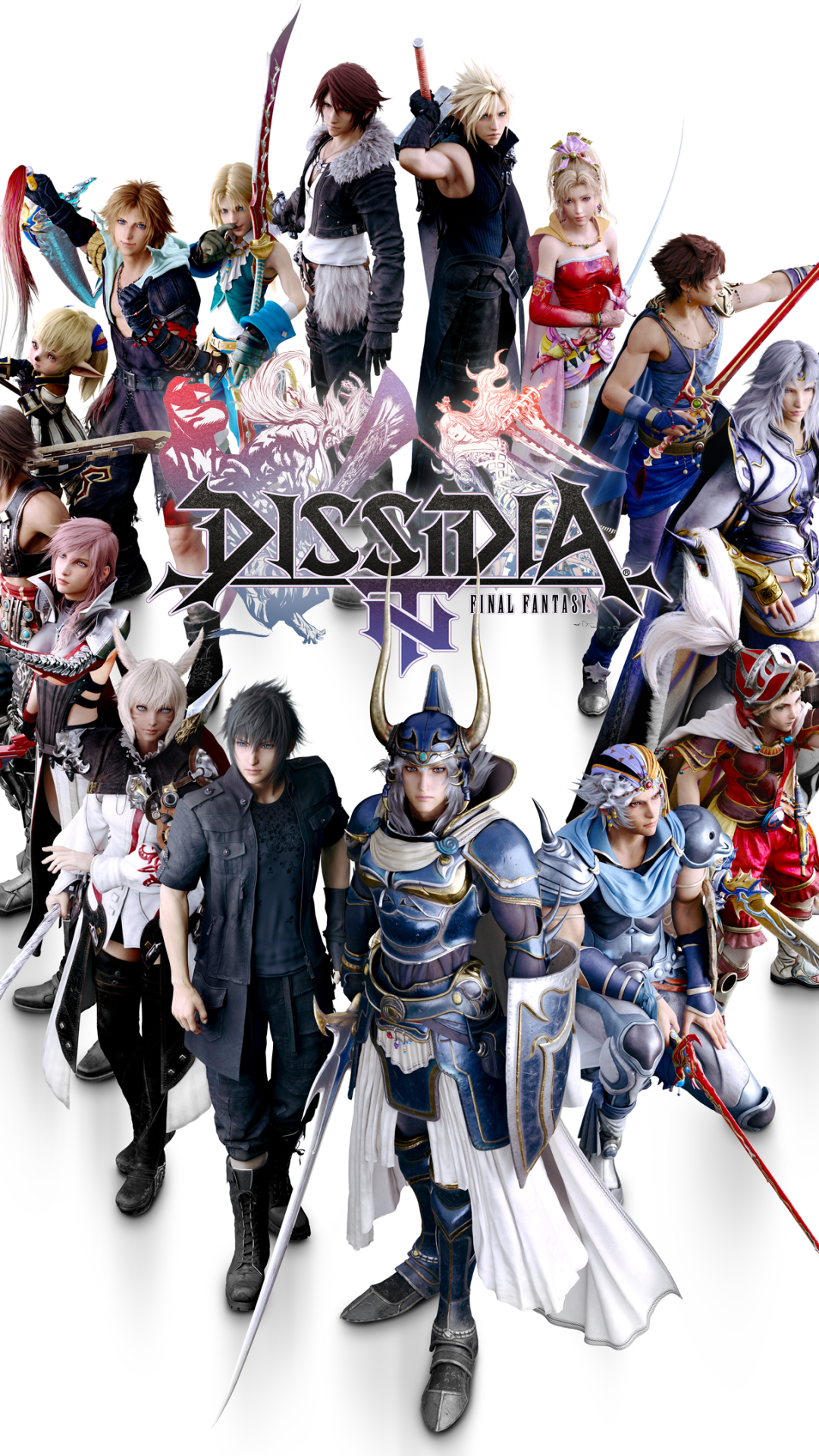 Video Game Dissidia Final Fantasy Nt 1080x1920 Wallpaper Id