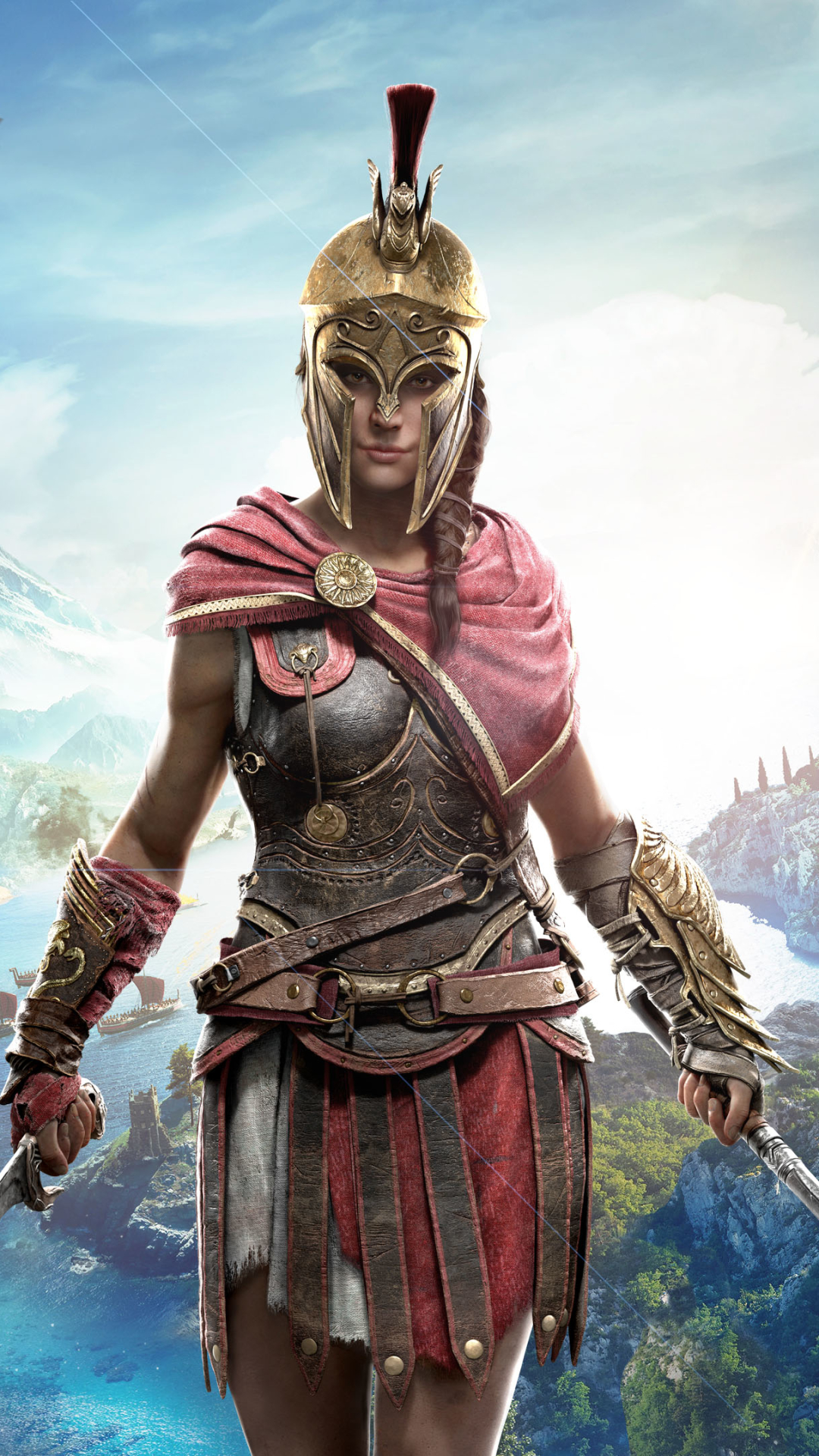 Video Game Assassin S Creed Odyssey 1080x1920 Wallpaper Id