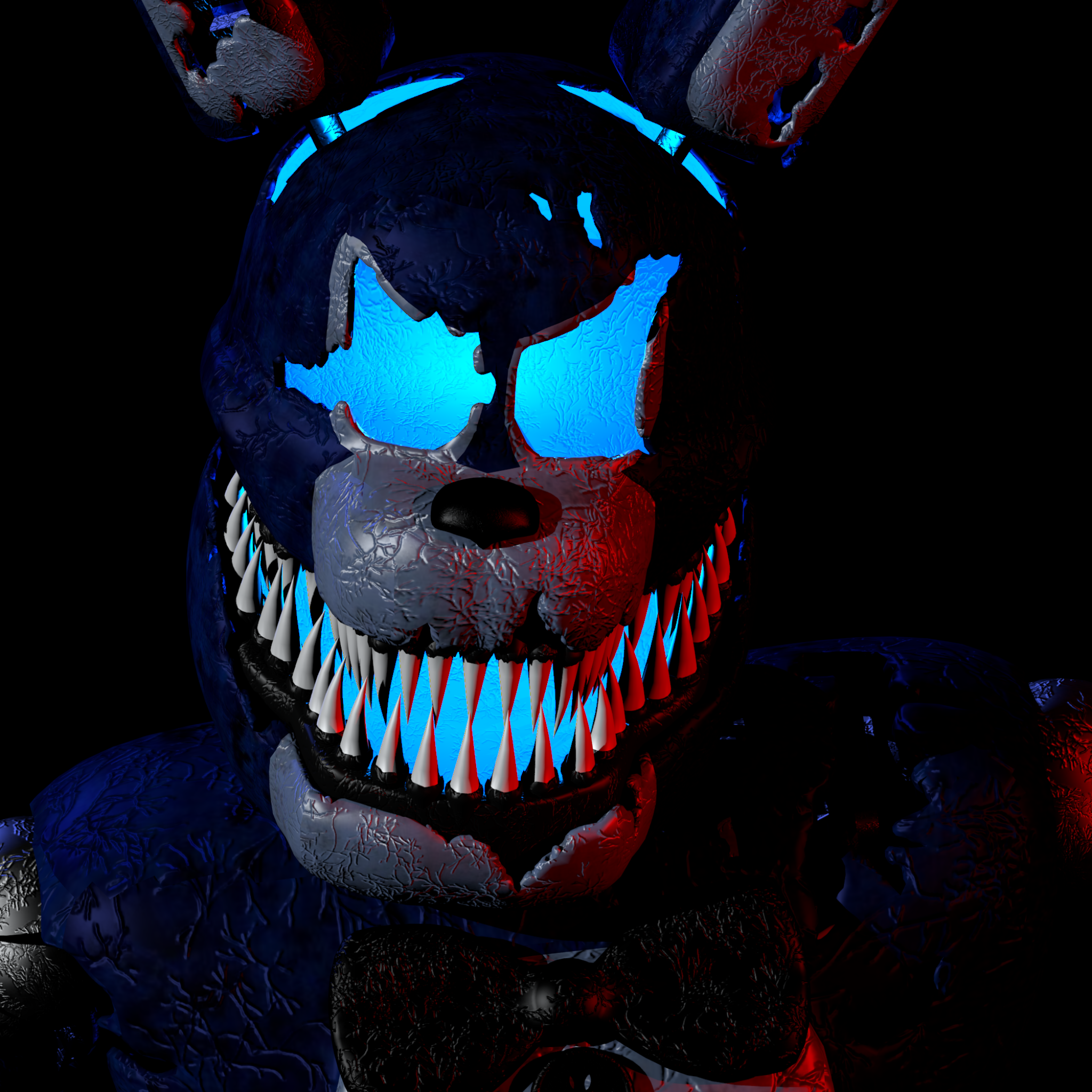 Video Game / Five Nights At Freddy's (2048x2048) Mobile Wallpaper