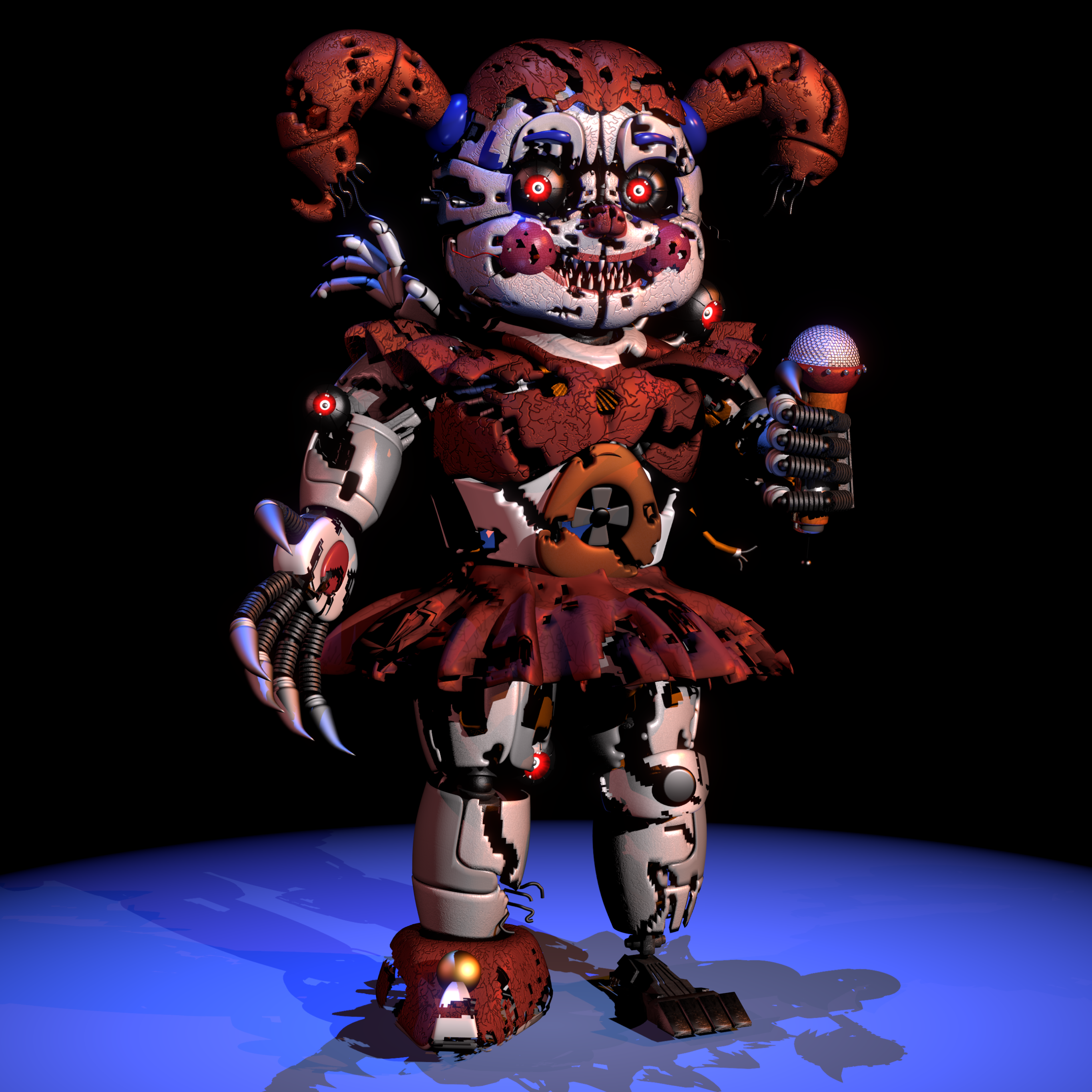Video Game Five Nights At Freddy S Sister Location 2732x2732