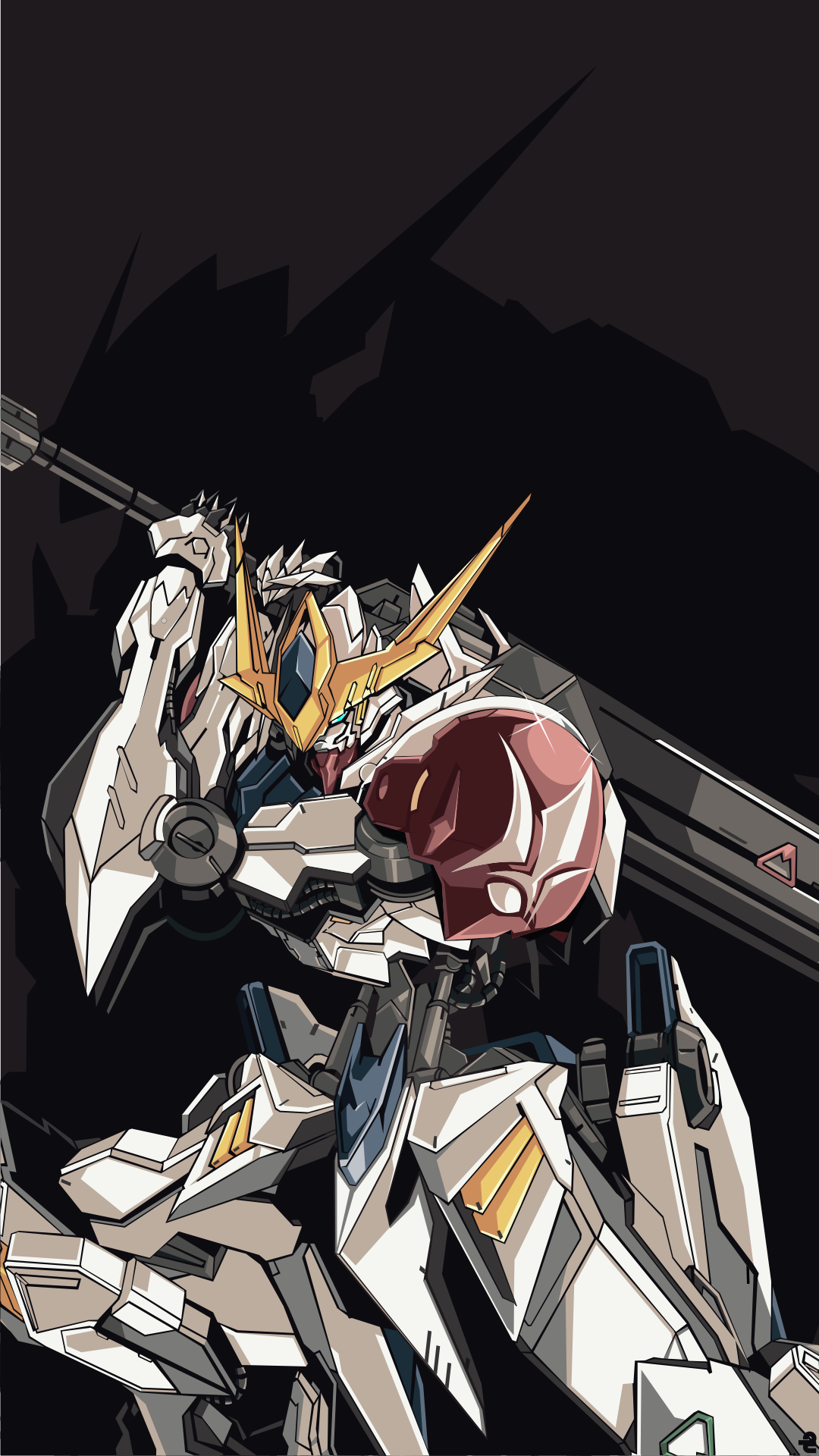 Anime Mobile Suit Gundam Iron Blooded Orphans 1080x1920
