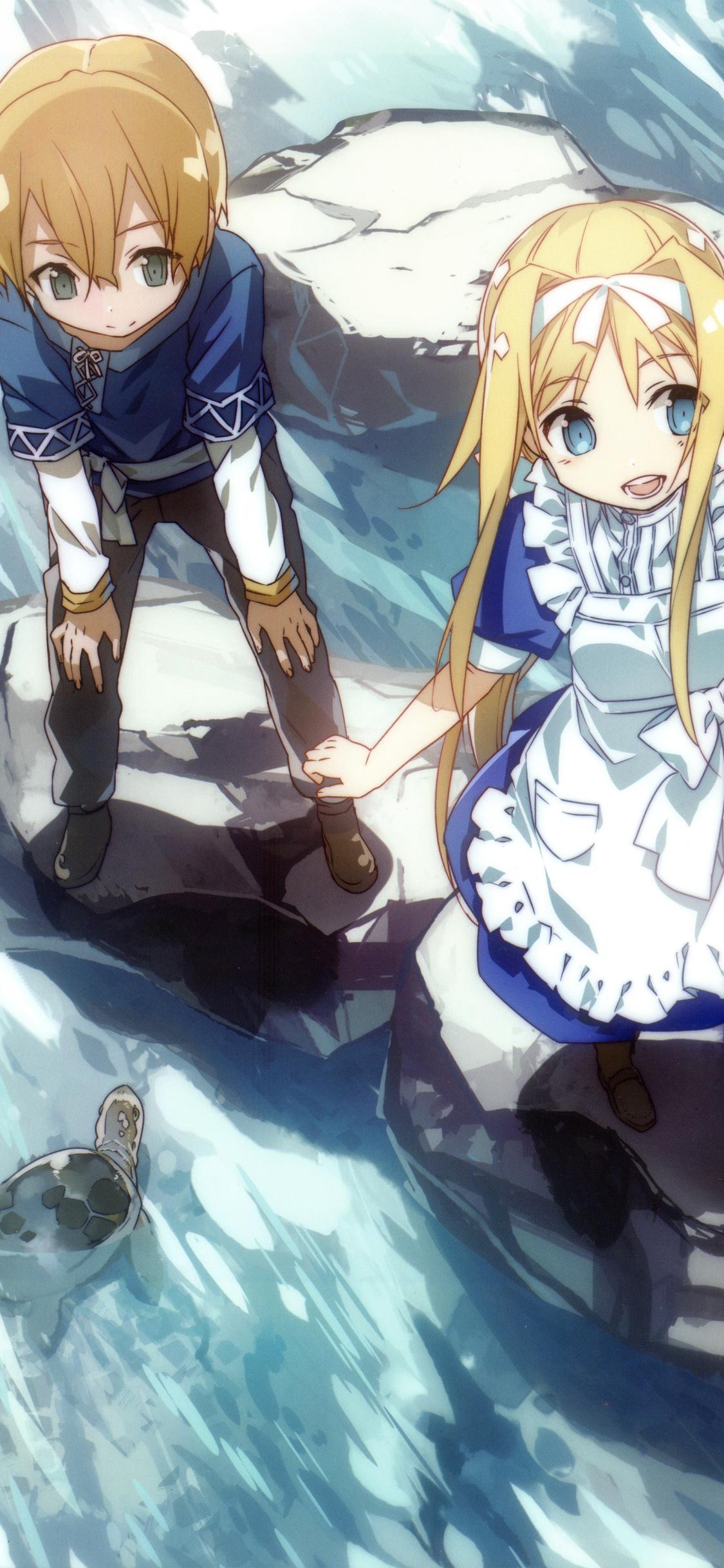 Anime Sword Art Online Alicization 1125x2436 Wallpaper Id