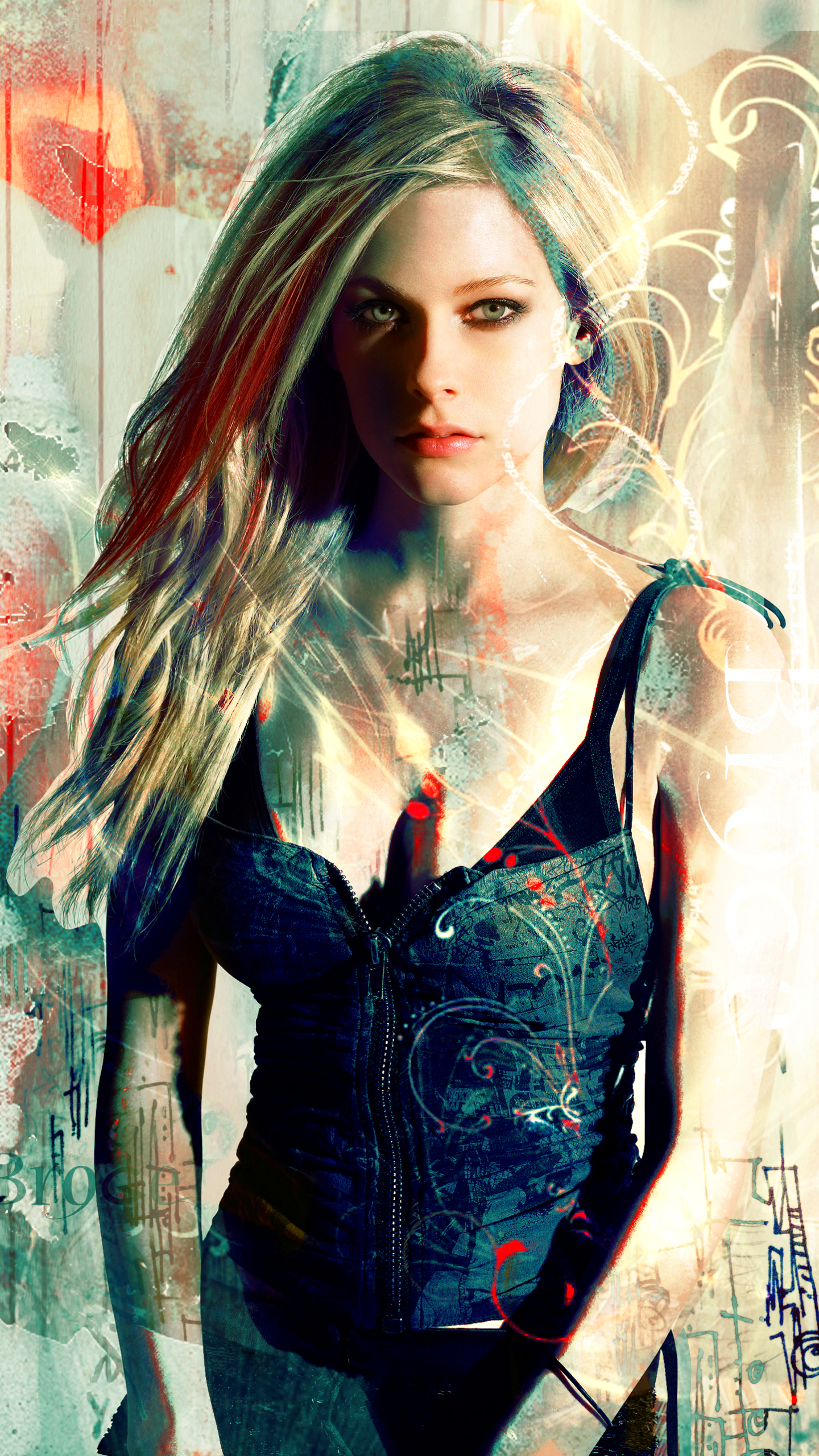Music Avril Lavigne 1440x2560 Wallpaper Id 748749 Mobile Abyss