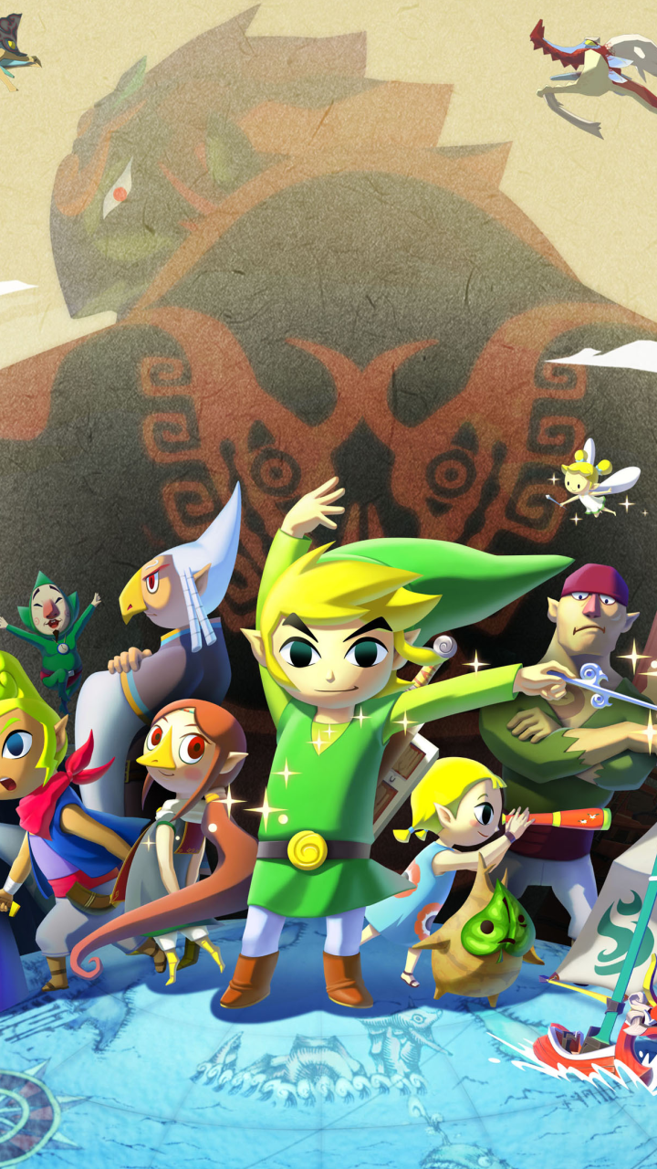 Video Game The Legend Of Zelda The Wind Waker Hd 720x1280