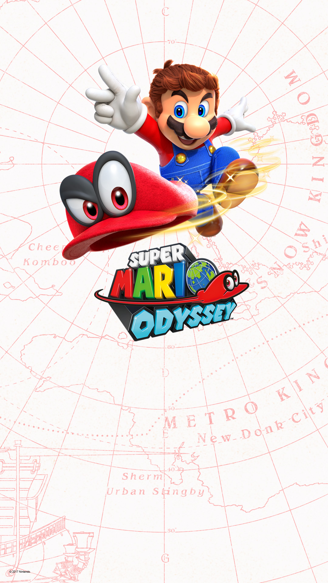 Video Game Super Mario Odyssey 1080x1920 Wallpaper Id
