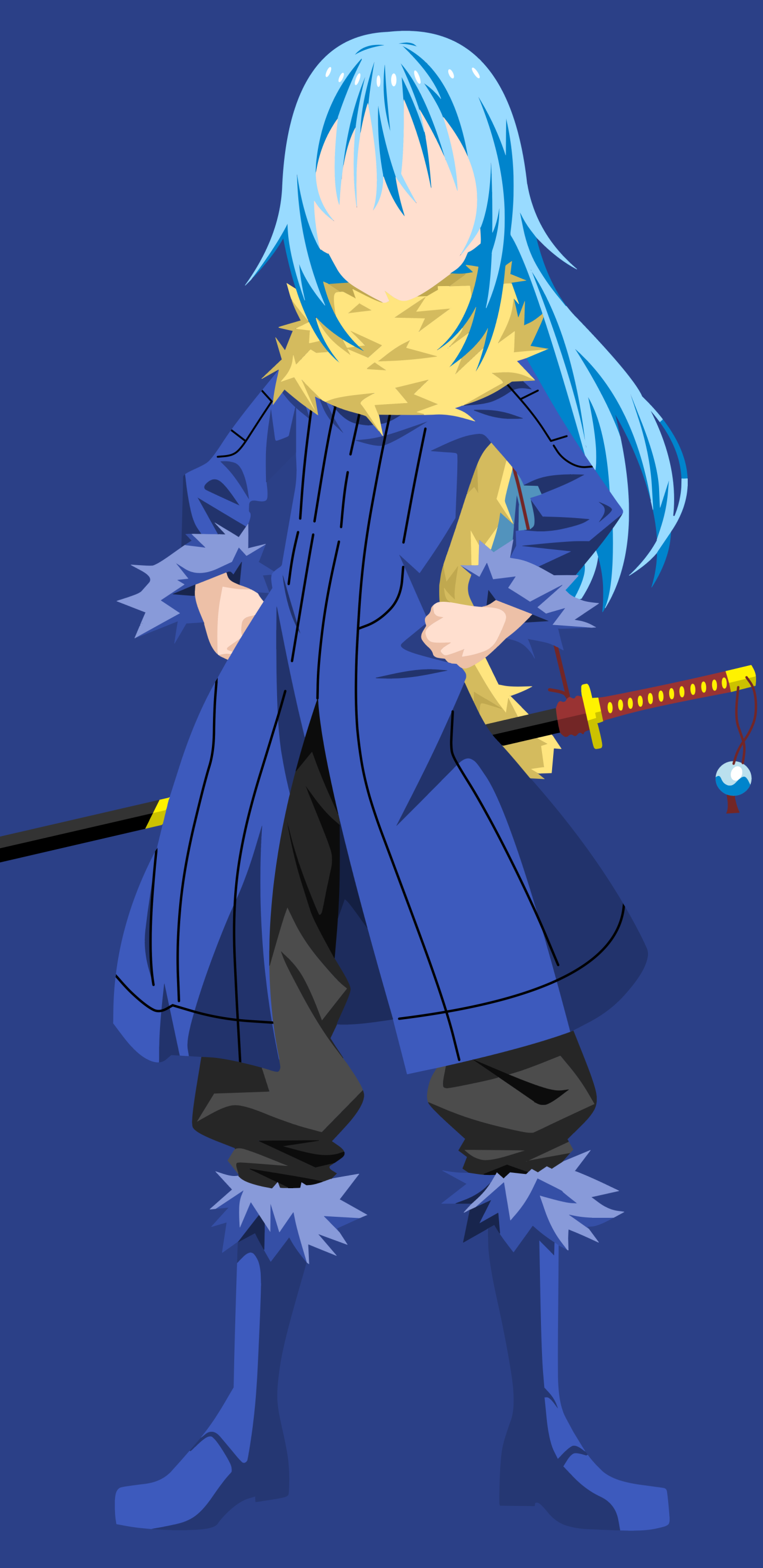 Anime That Time I Got Reincarnated As A Slime 1440x2960