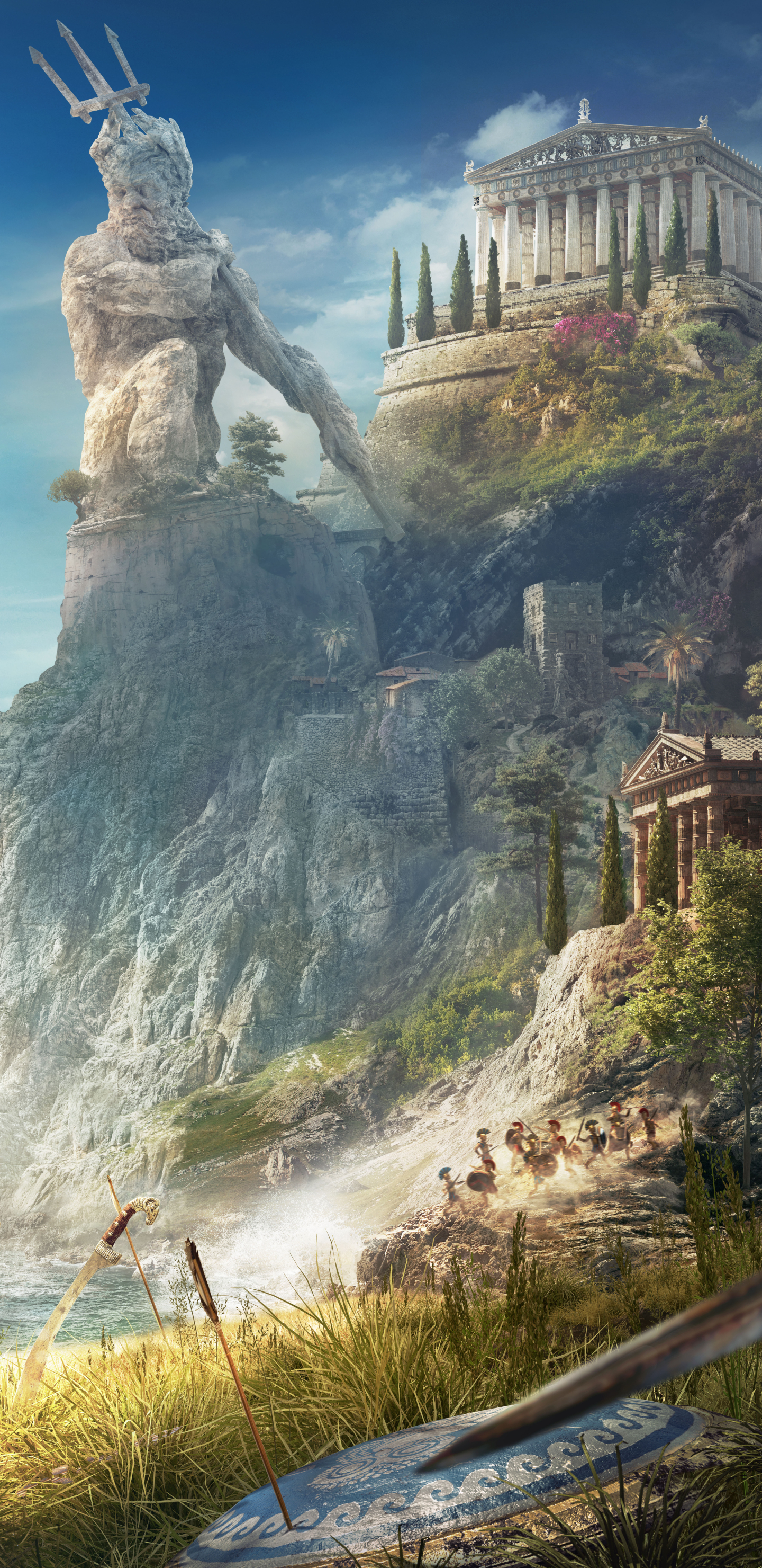 Video Game Assassin S Creed Odyssey 1440x2960 Wallpaper Id