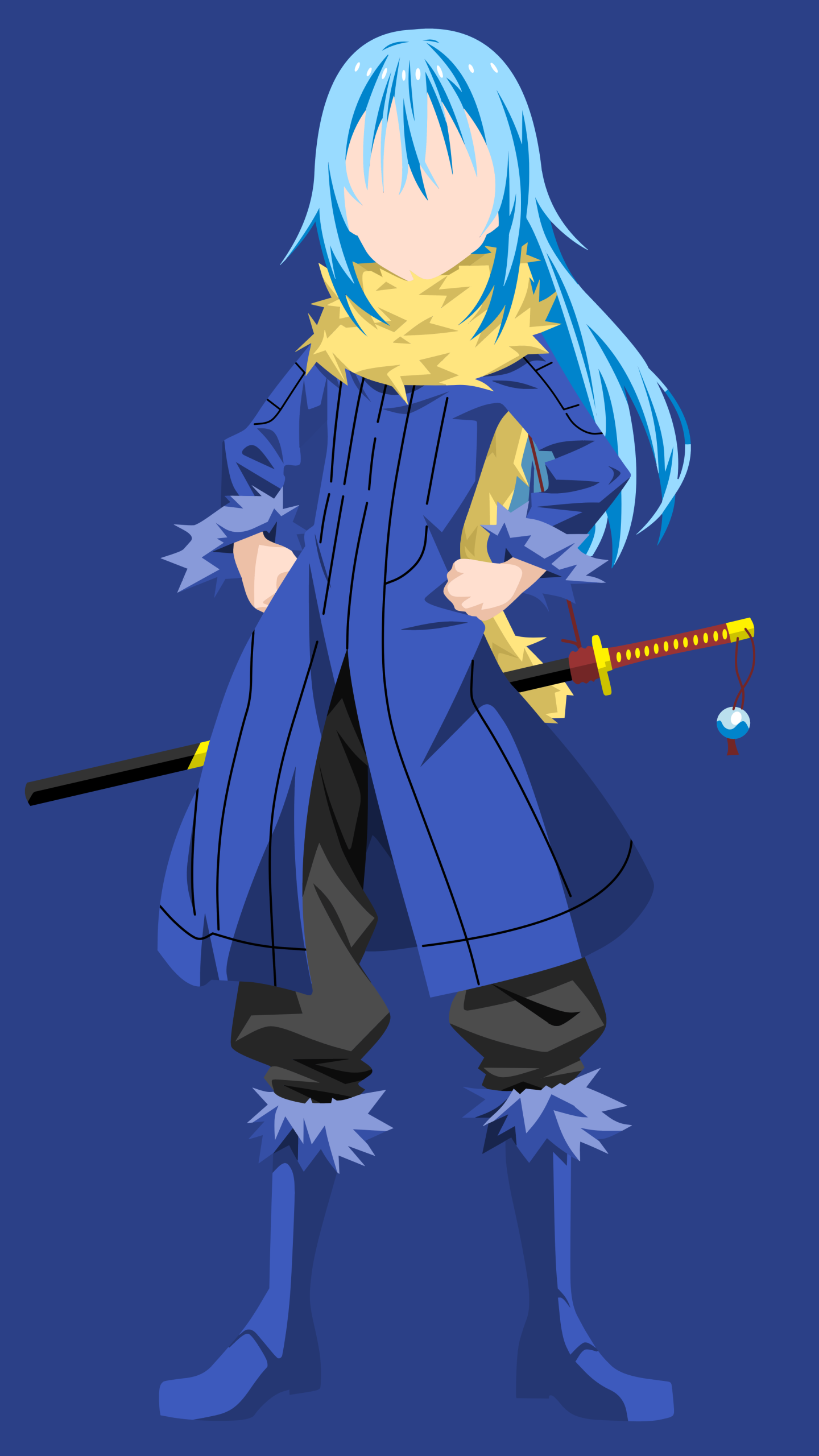 Anime That Time I Got Reincarnated As A Slime 1440x2560