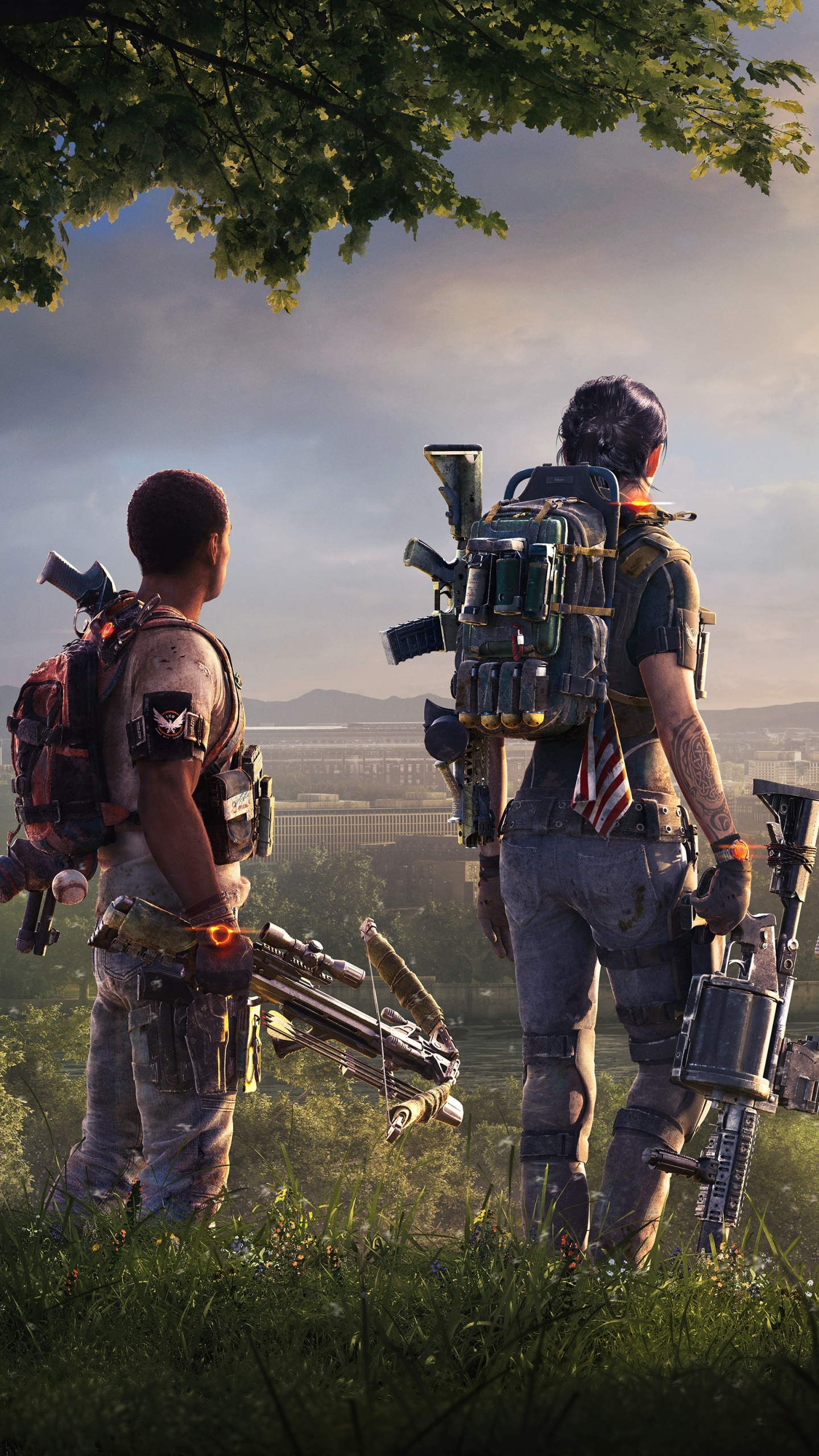 Video Game Tom Clancy S The Division 2 1440x2560 Wallpaper Id
