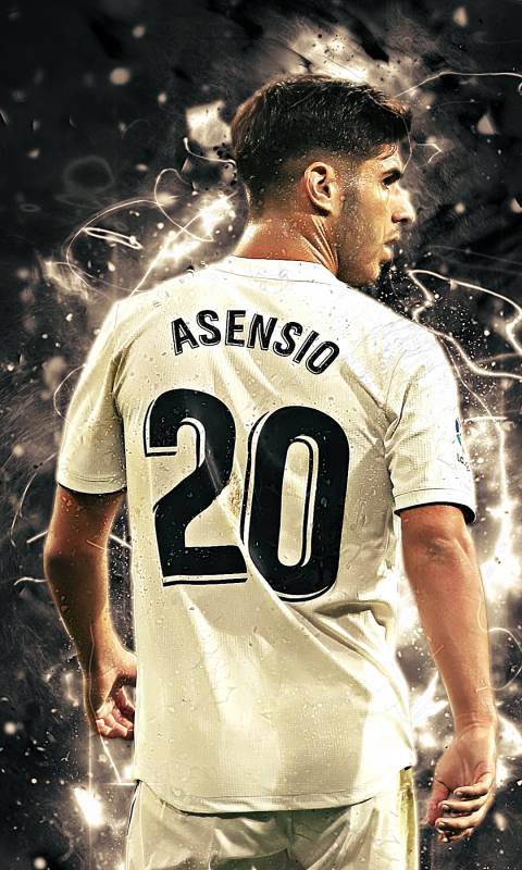 Sportsmarco Asensio 480x800 Wallpaper Id 756043 Mobile