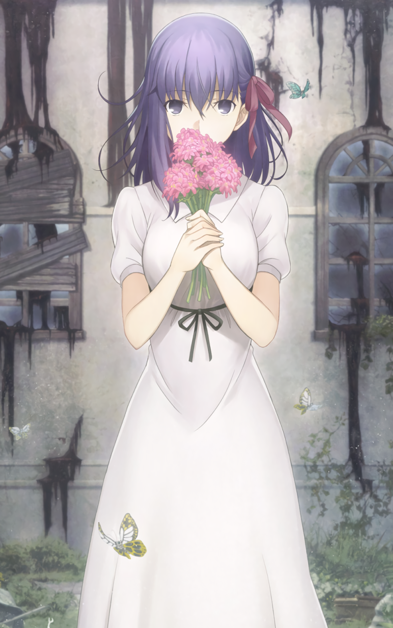 Anime Fate Stay Night Movie Heaven S Feel 800x1280 Wallpaper Id