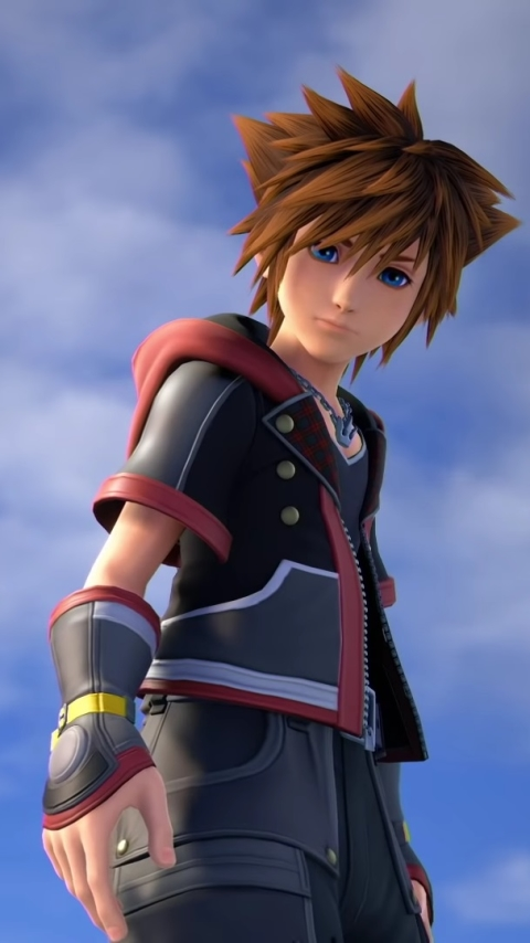 Video Game Kingdom Hearts Iii 480x854 Wallpaper Id 760179