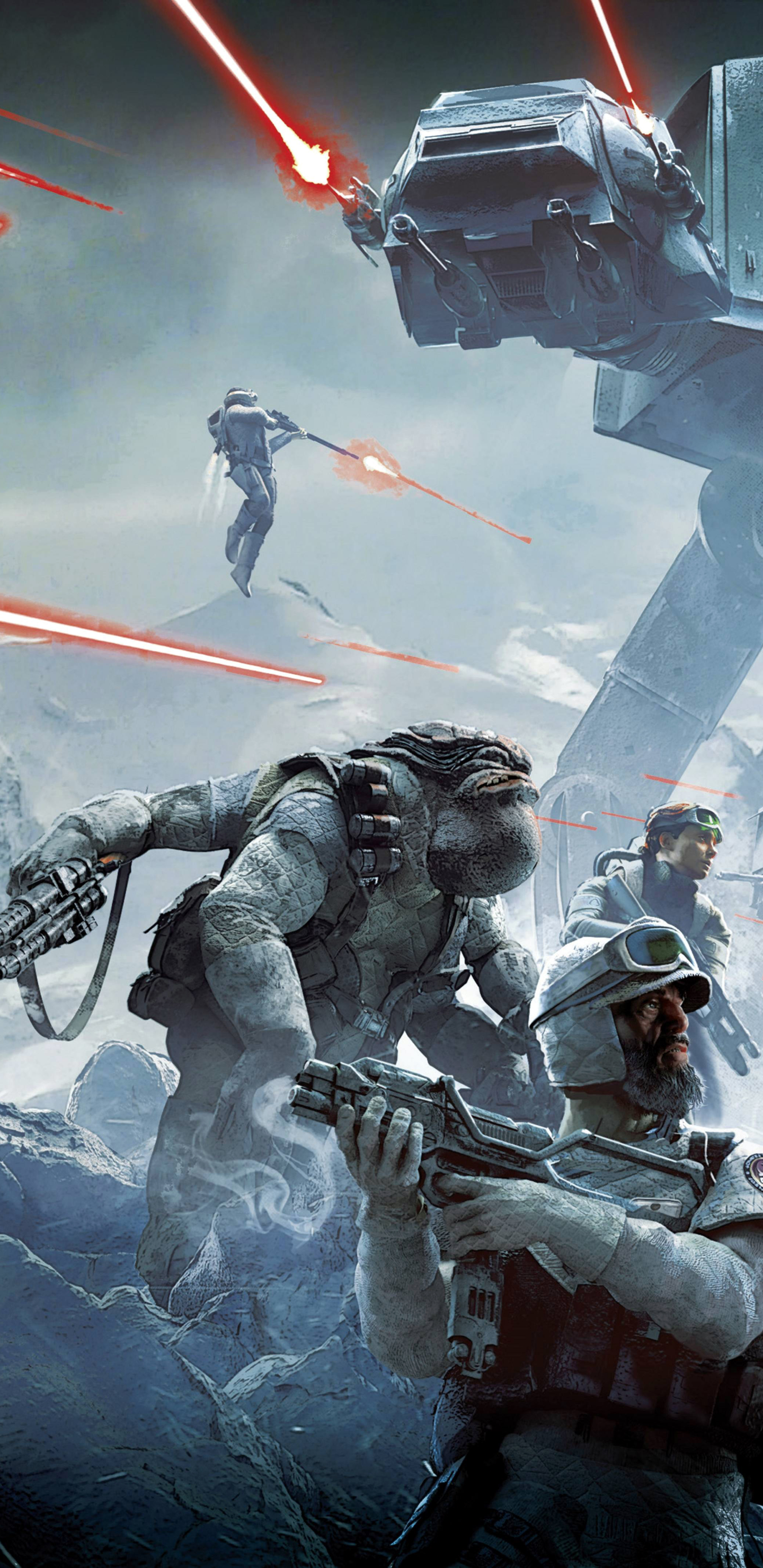 Video Game Star Wars Battlefront 2015 1440x2960 Wallpaper Id