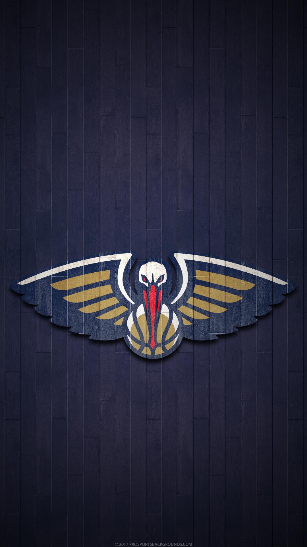 Sports New Orleans Pelicans 1080x1920 Wallpaper Id 763006