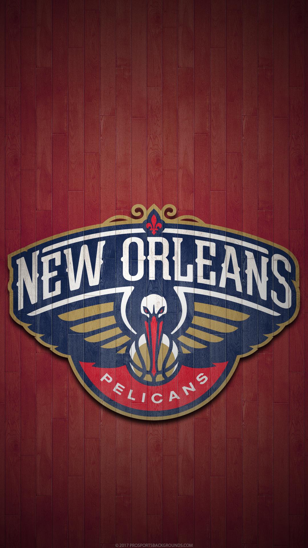 Sports New Orleans Pelicans 1080x1920 Wallpaper Id 763007