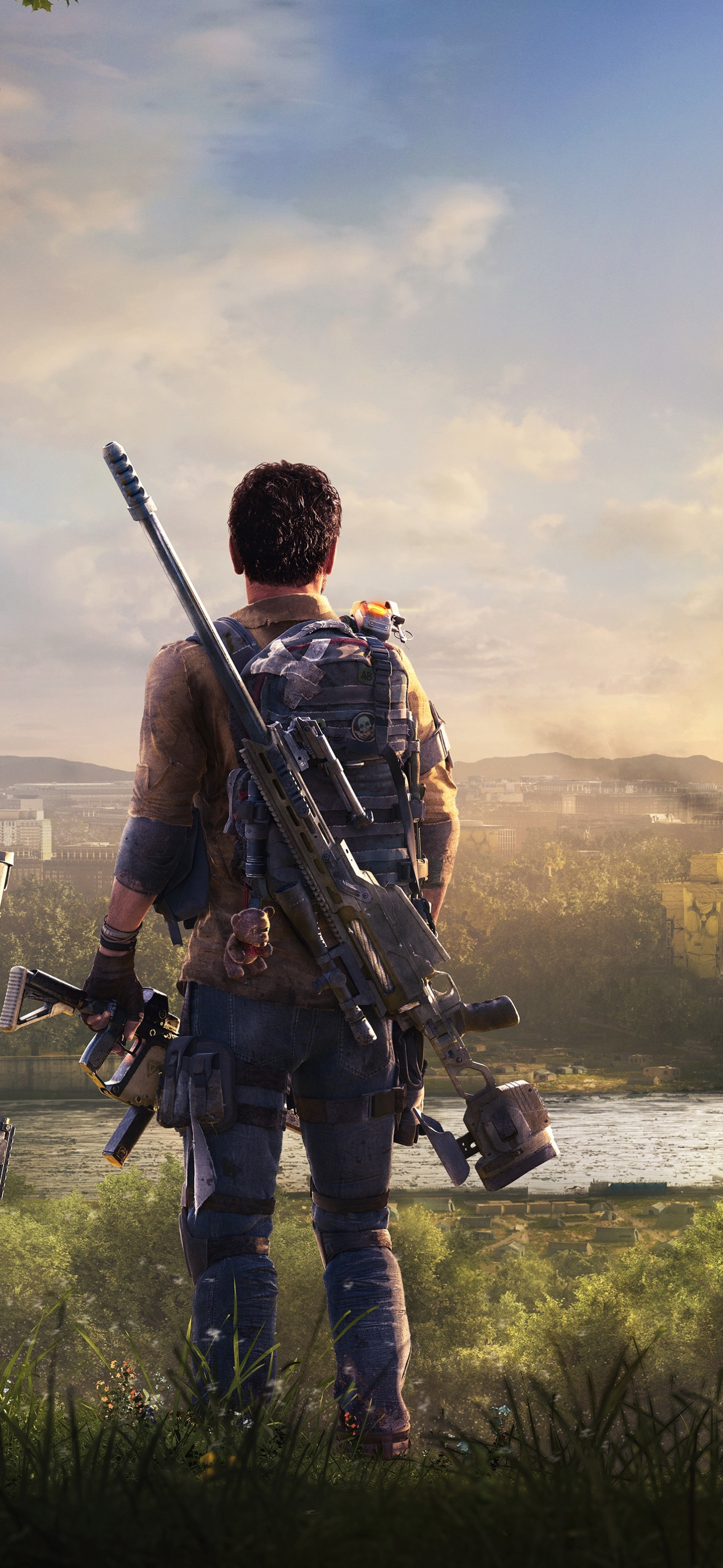 Video Game Tom Clancy S The Division 2 1440x3120 Wallpaper Id