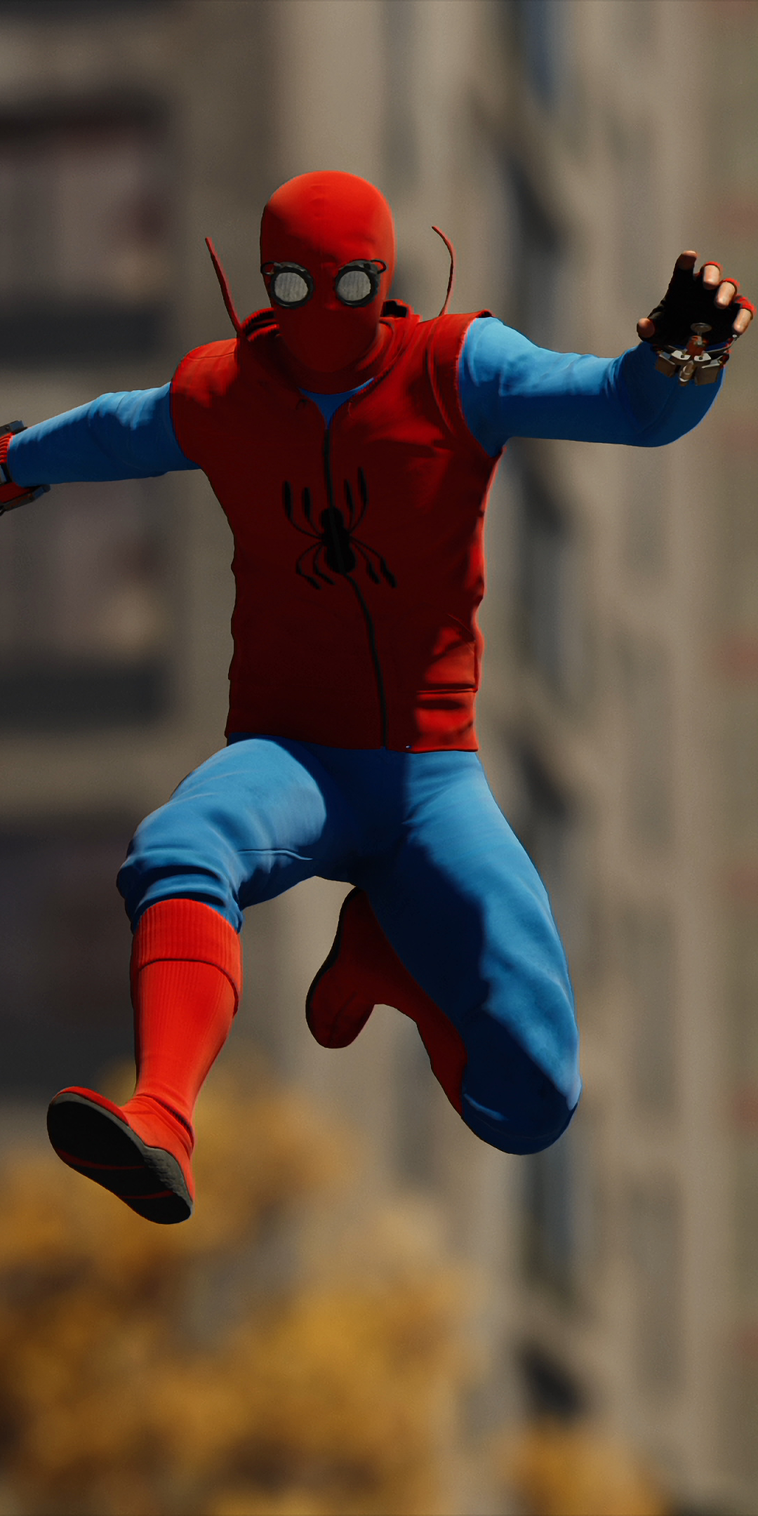 Video Game Spider Man Ps4 1080x1920 Wallpaper Id 737470