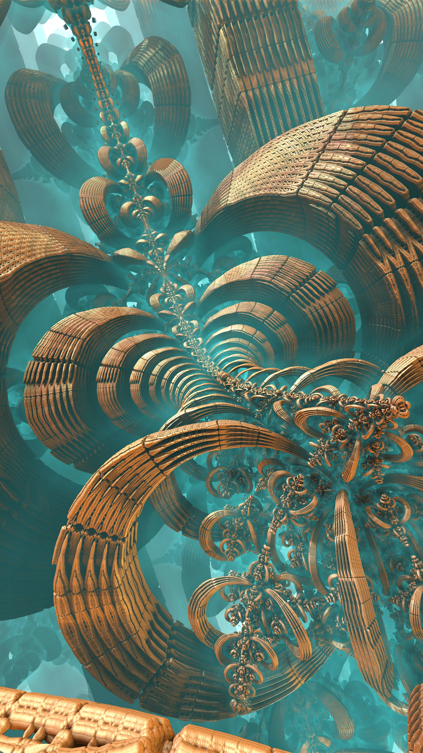 Abstract Fractal 1440x2560 Wallpaper Id 767677 Mobile Abyss