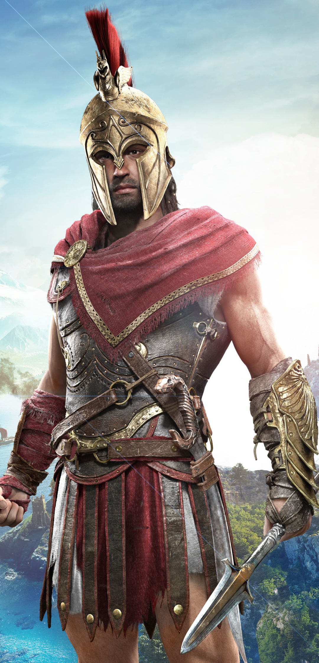 Video Game Assassin S Creed Odyssey 1080x2246 Wallpaper Id