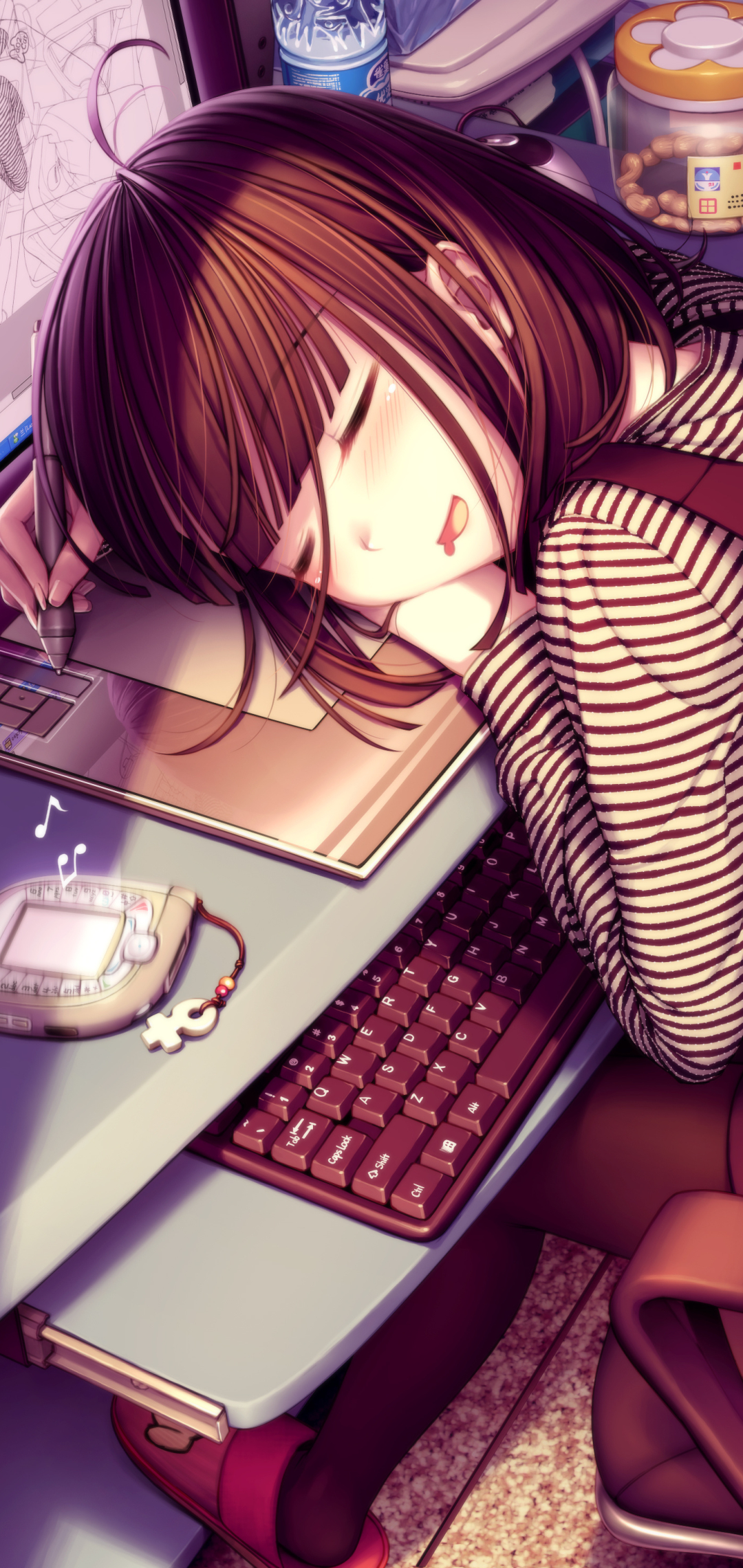 Anime Girl 1080x2280 Wallpaper Id 771045 Mobile Abyss