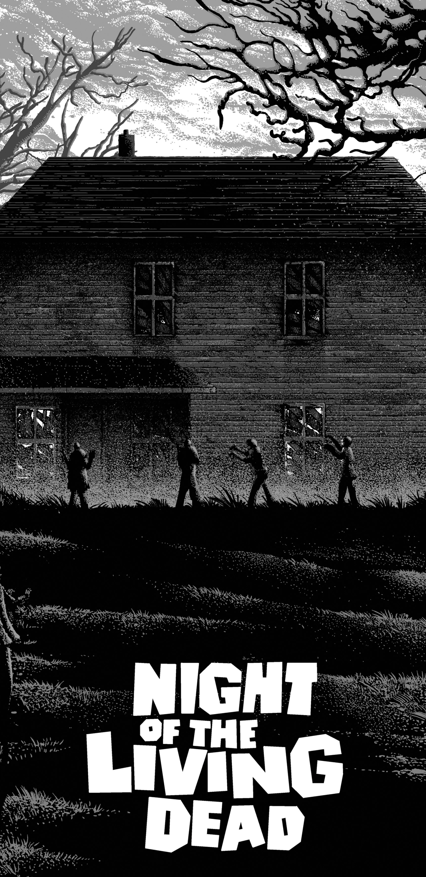 Movienight Of The Living Dead 1440x2960 Wallpaper Id