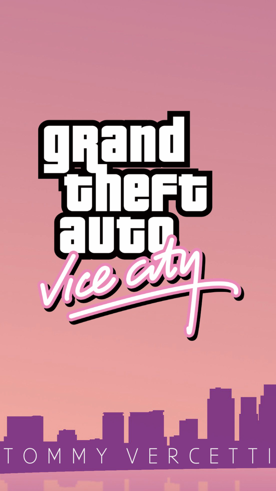 Video Game Grand Theft Auto Vice City 1080x1920 Wallpaper Id