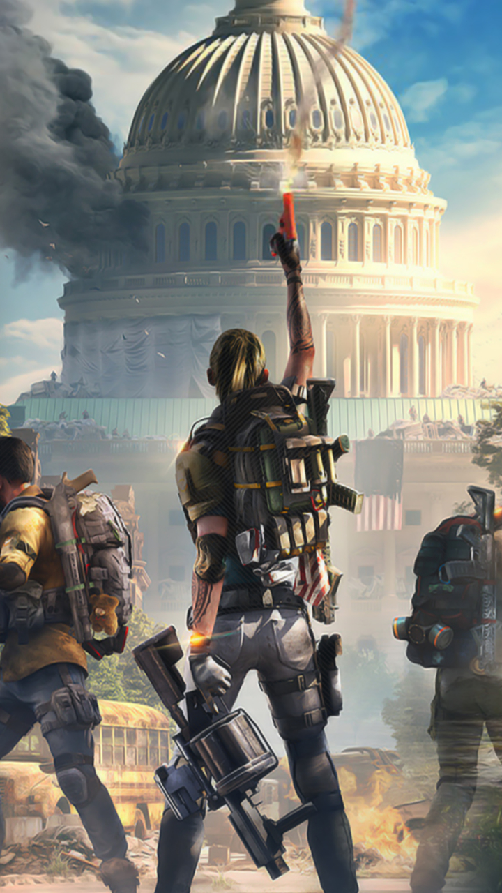 Video Game Tom Clancy S The Division 2 720x1280 Wallpaper Id