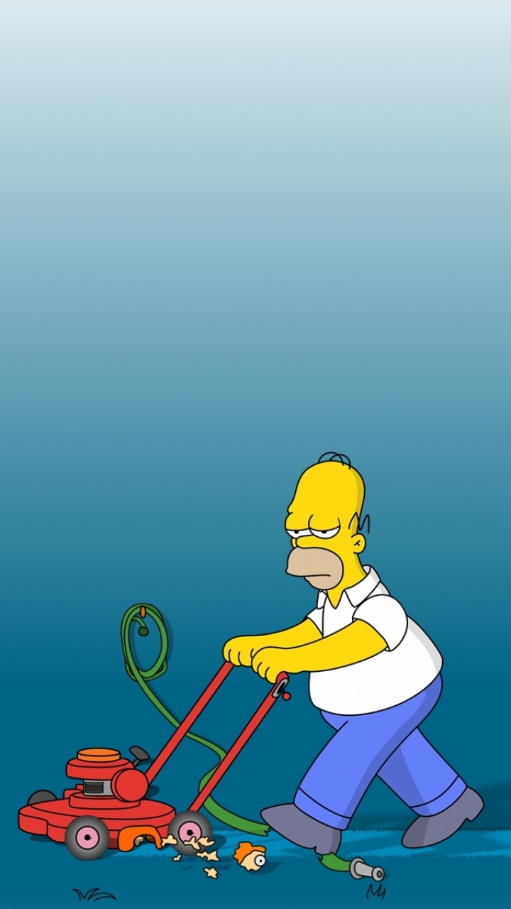 iPhone 5 TV ShowThe Simpsons Wallpaper ID 77617