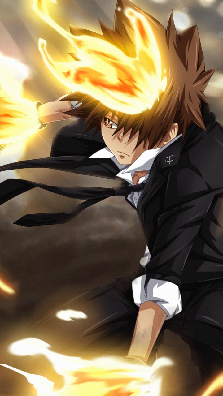 Anime Katekyō Hitman Reborn 720x1280 Wallpaper Id 777344 Mobile Abyss