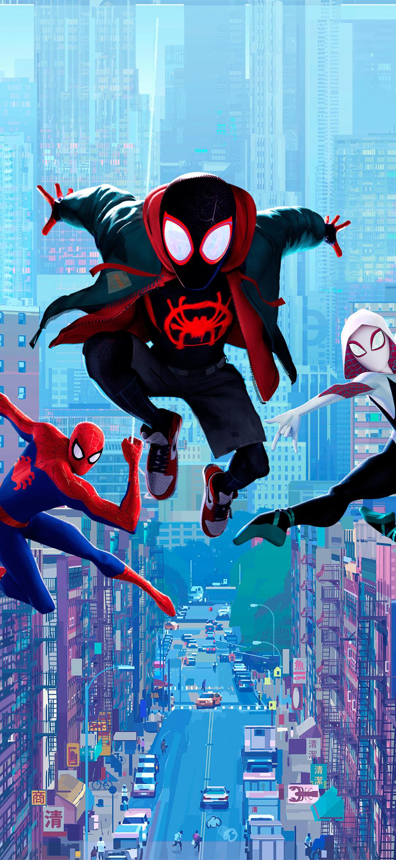 Movie Spider Man Into The Spider Verse 1080x2340 Wallpaper Id