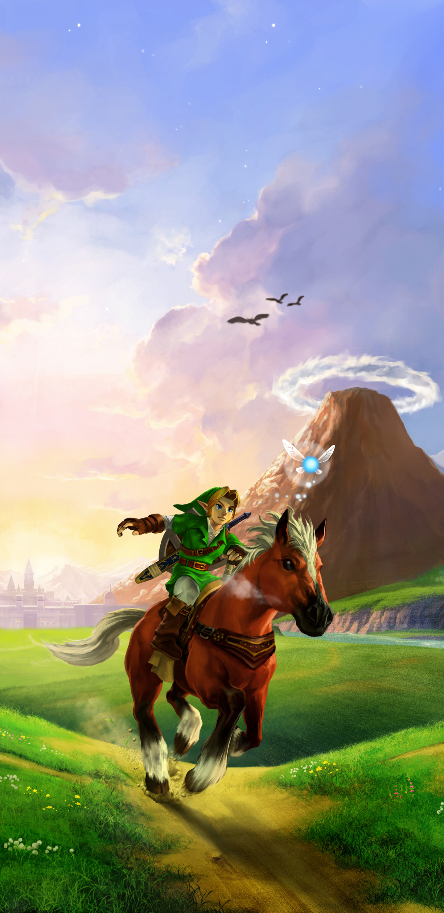Video Game The Legend Of Zelda Ocarina Of Time 1080x2280