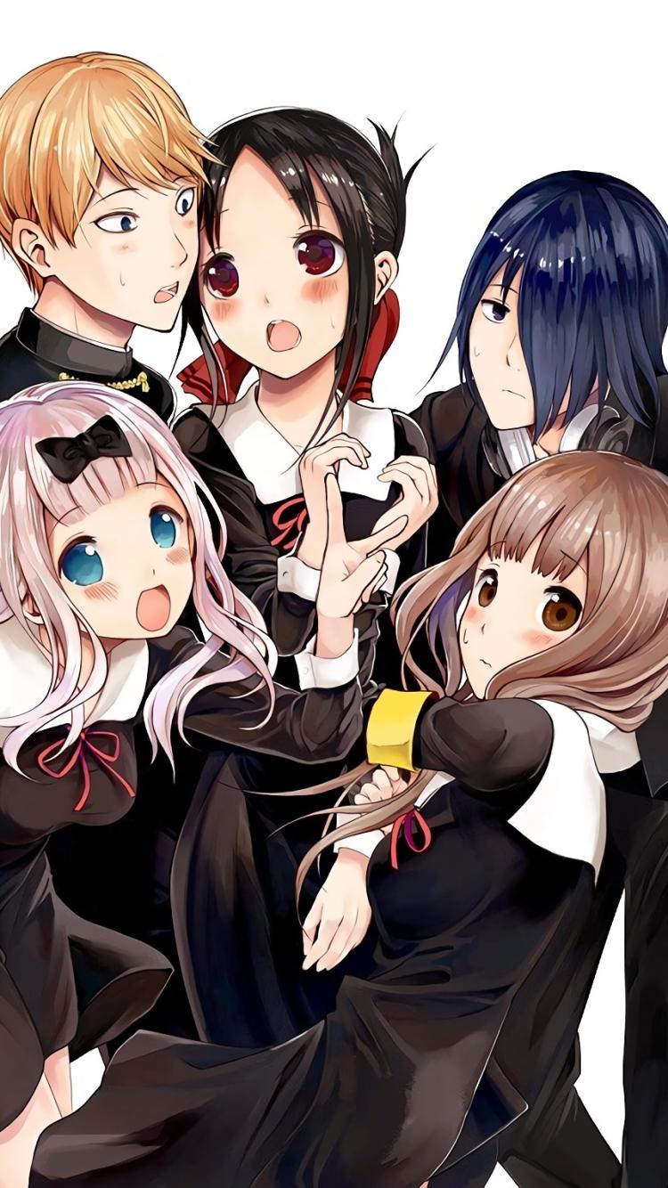 Anime Kaguya Sama Love Is War 720x1280 Wallpaper Id 777985
