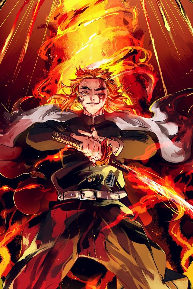 Anime/Demon Slayer: Kimetsu No Yaiba (640x960) Wallpaper ID: 784437 - Mobile Abyss
