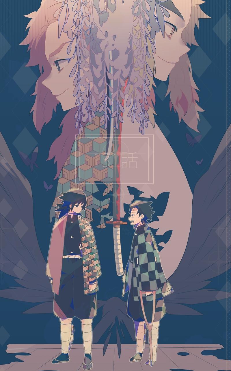 Anime Demon Slayer Kimetsu No Yaiba 800x1280 Wallpaper Id