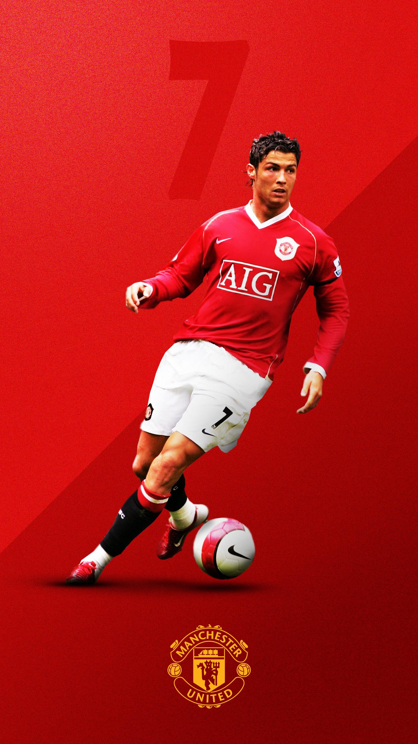 Cristiano Ronaldo Manchester United Wallpaper Hd
