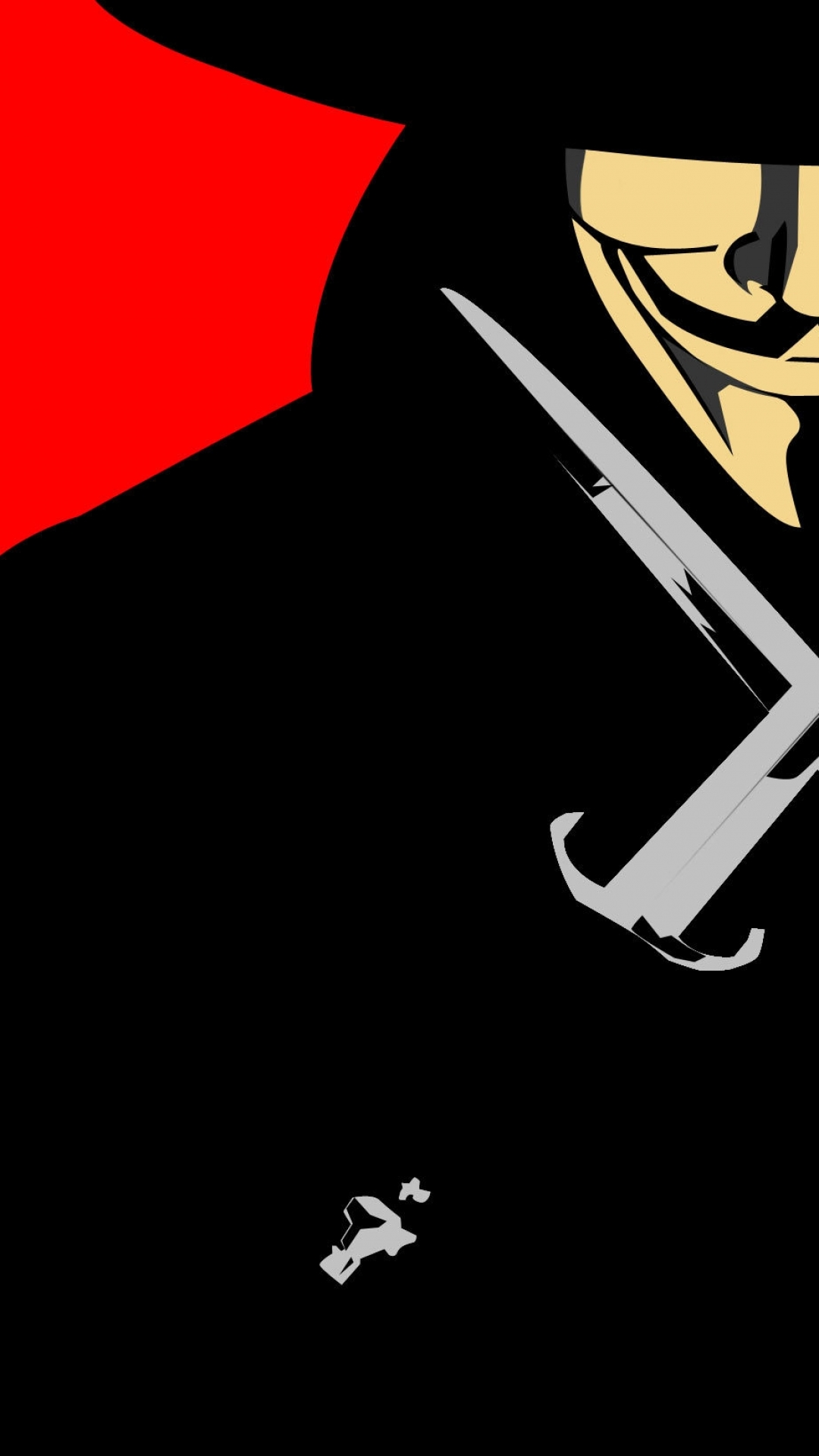 6 V For Vendetta Apple IPhone 750x1334 Wallpapers