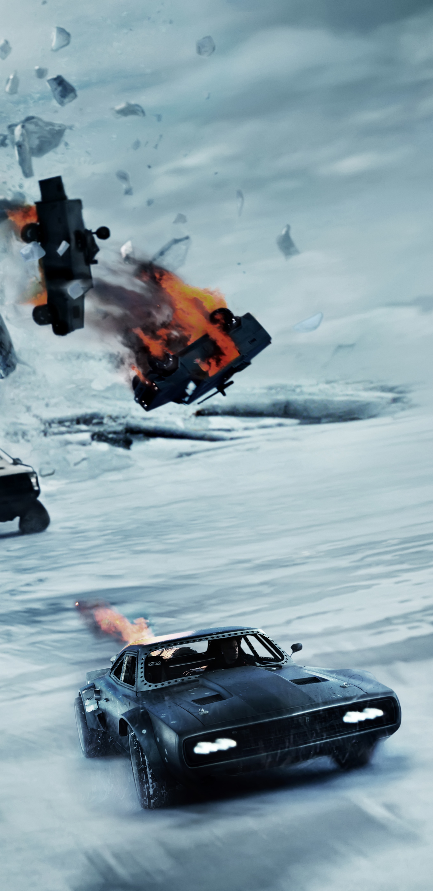 Movie The Fate Of The Furious 1440x2960 Wallpaper Id 790526