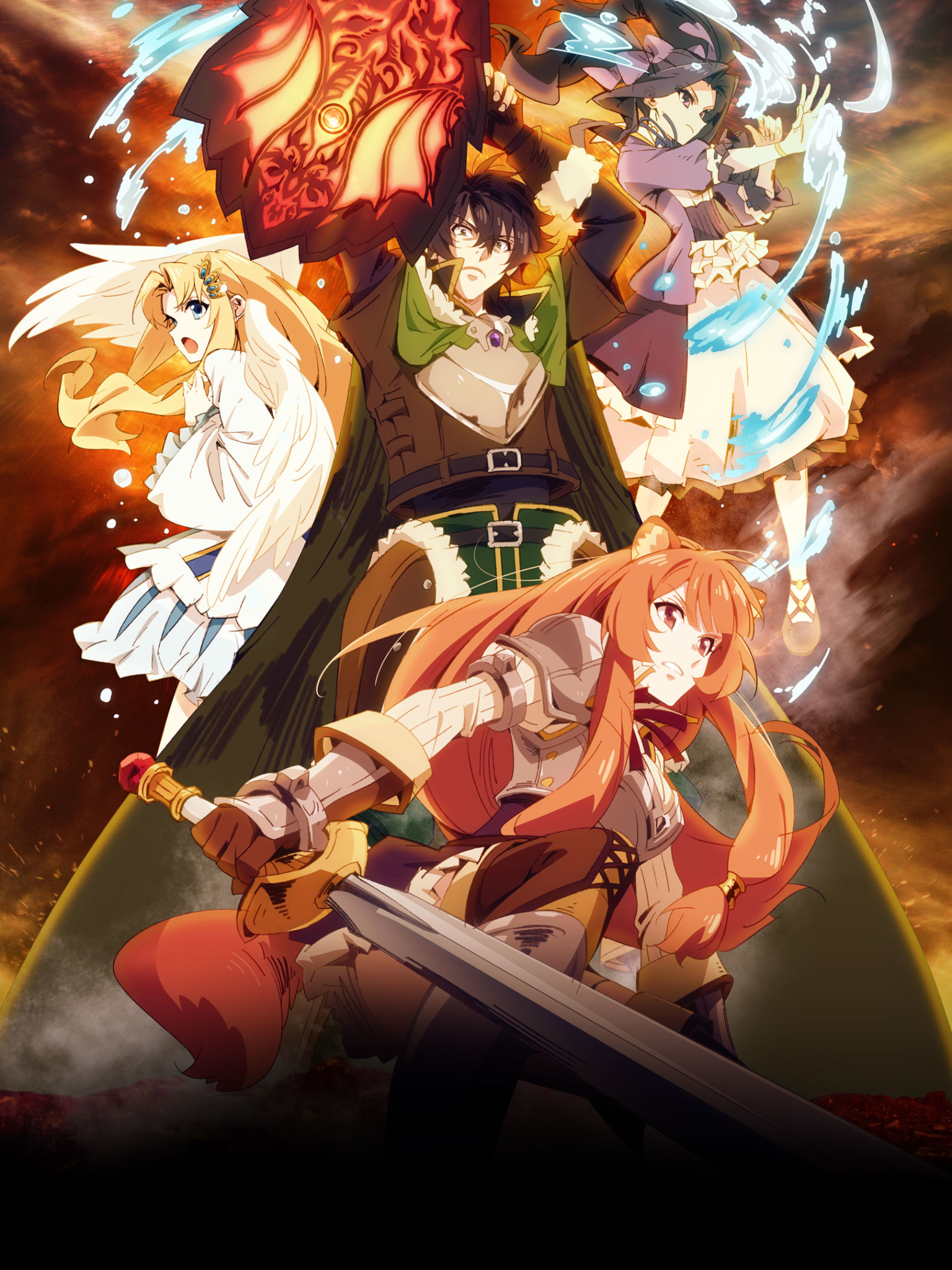 Anime The Rising Of The Shield Hero 1536x2048 Wallpaper Id