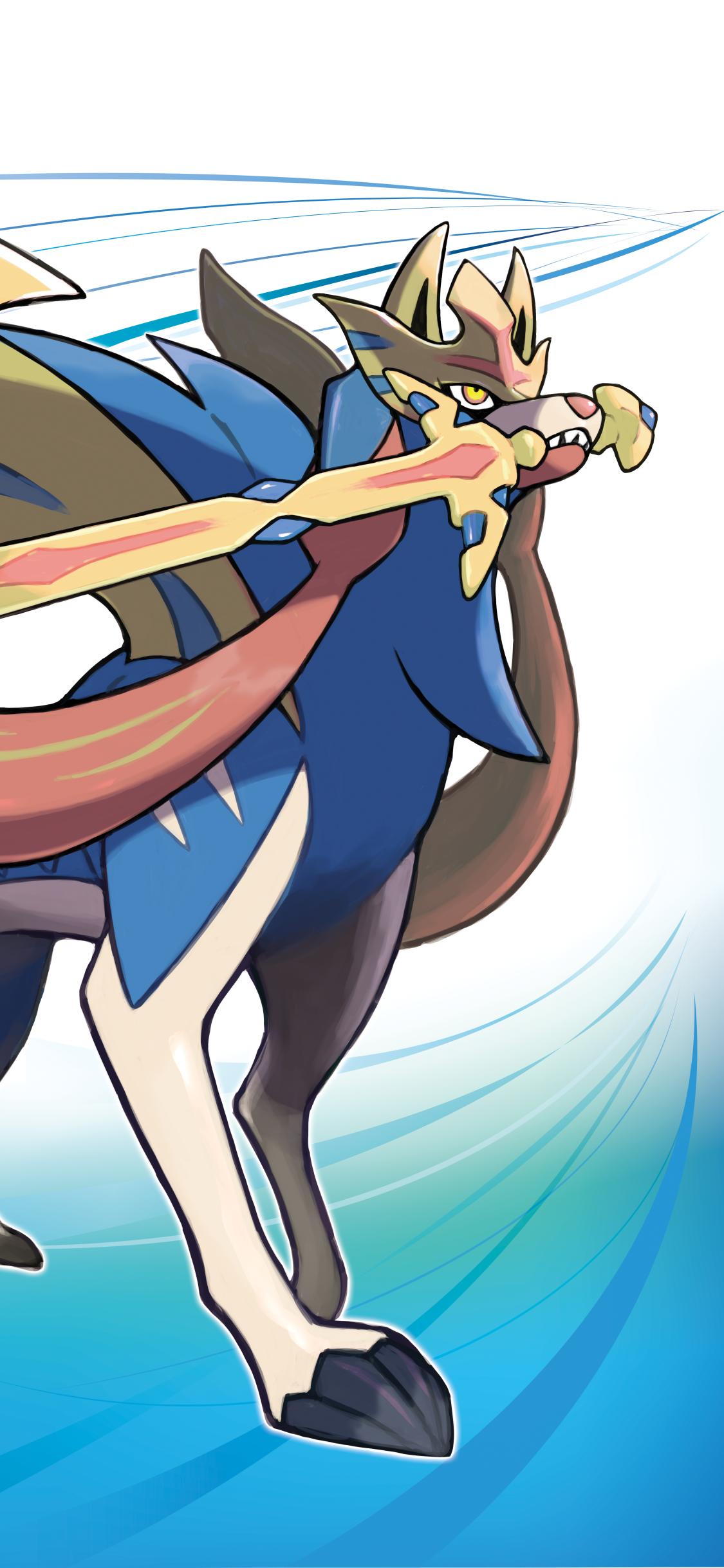 Video Game Pokemon Sword And Shield 1125x2436 Wallpaper Id