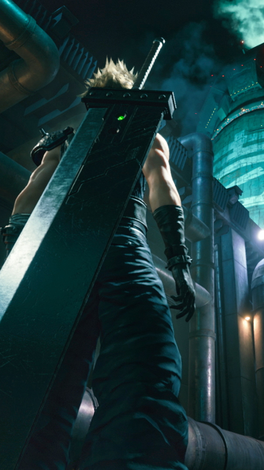 Video Gamefinal Fantasy Vii Remake 540x960 Wallpaper Id