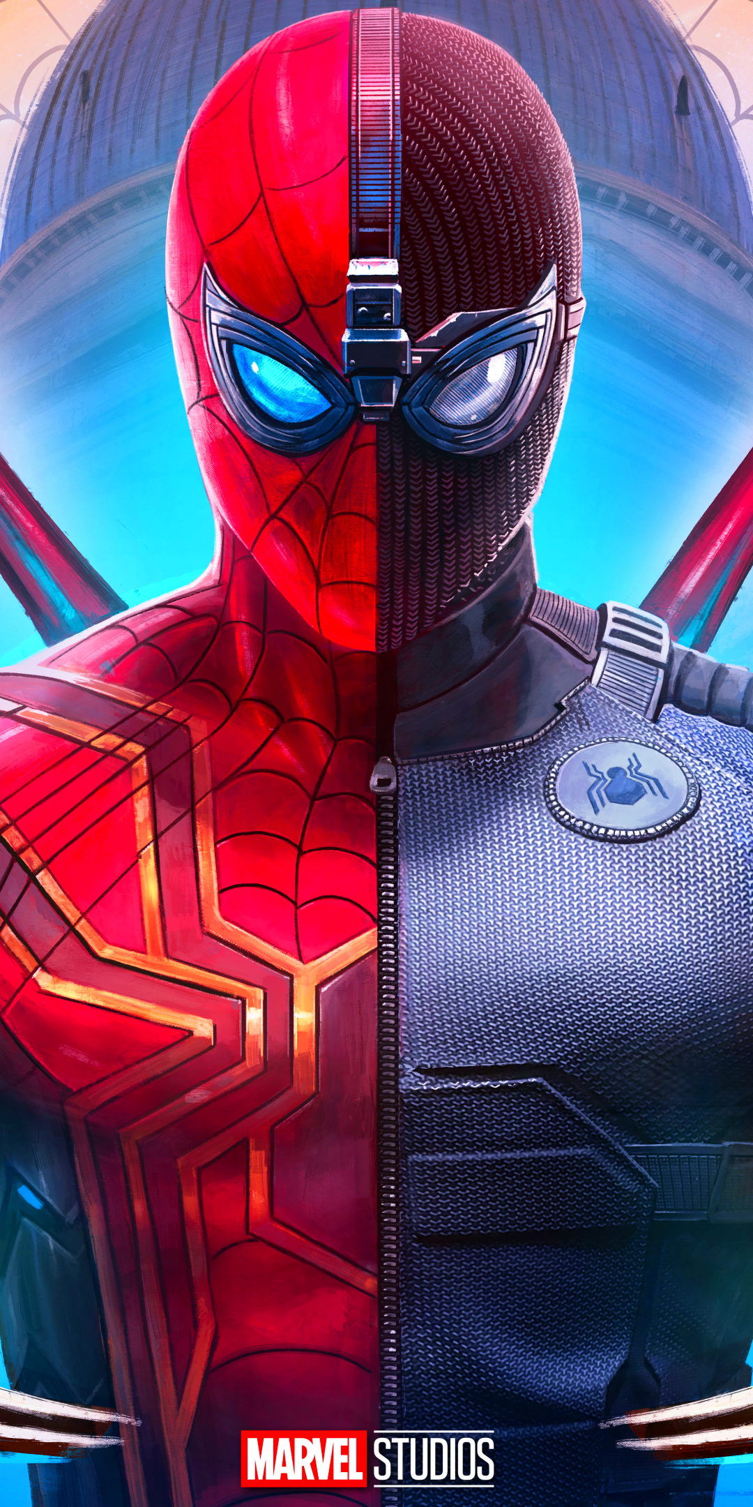 Moviespider Man Far From Home 1080x2160 Wallpaper Id